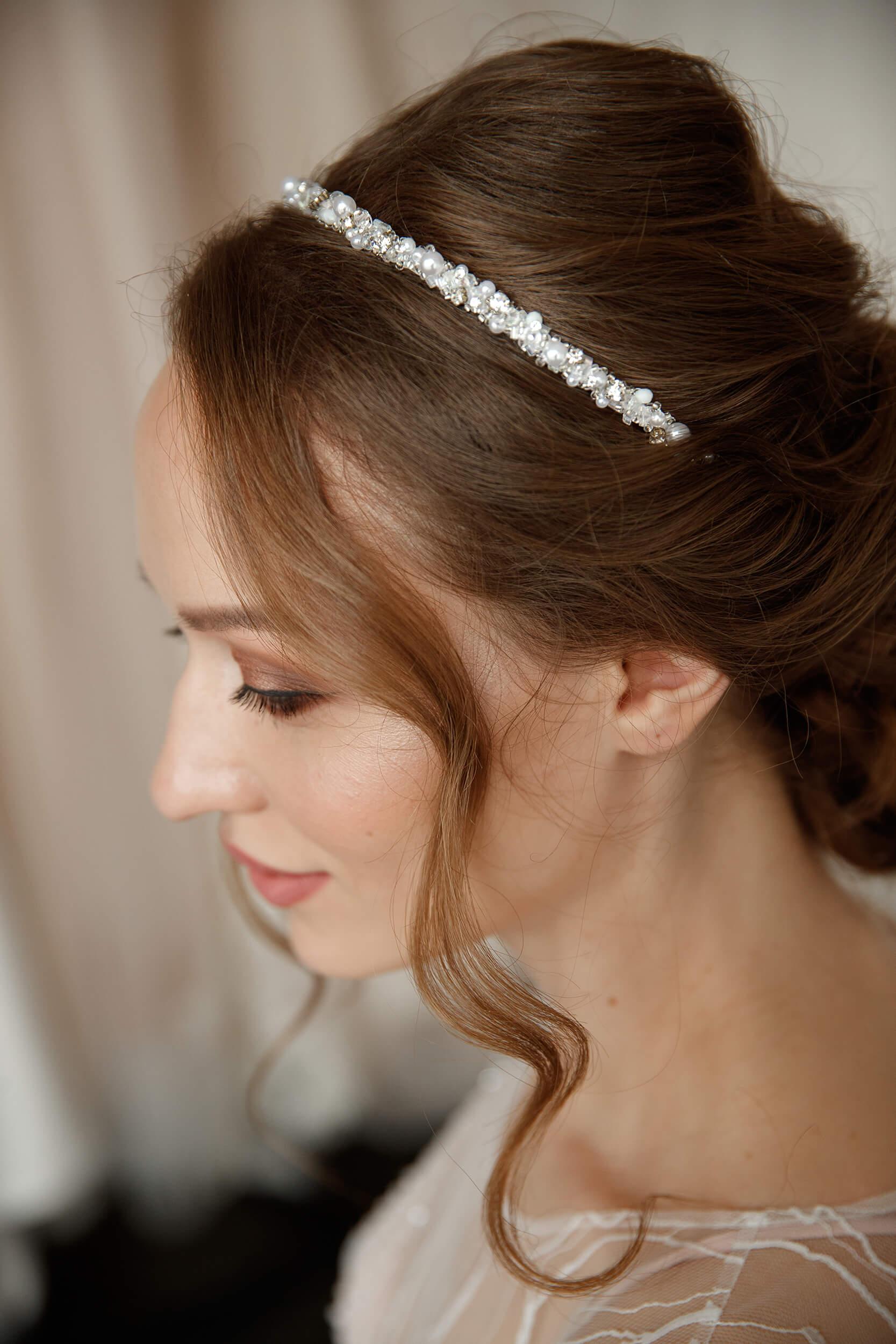 Ободок свадебный   Vero