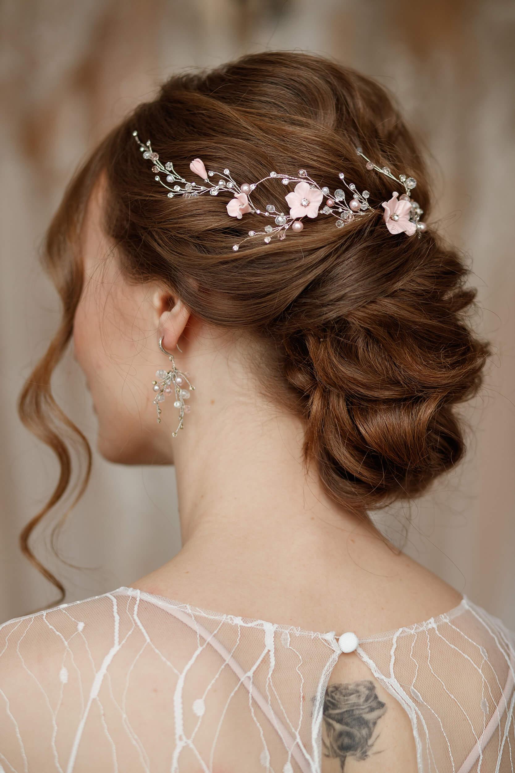 Свадебная веточка для волос | Vero
