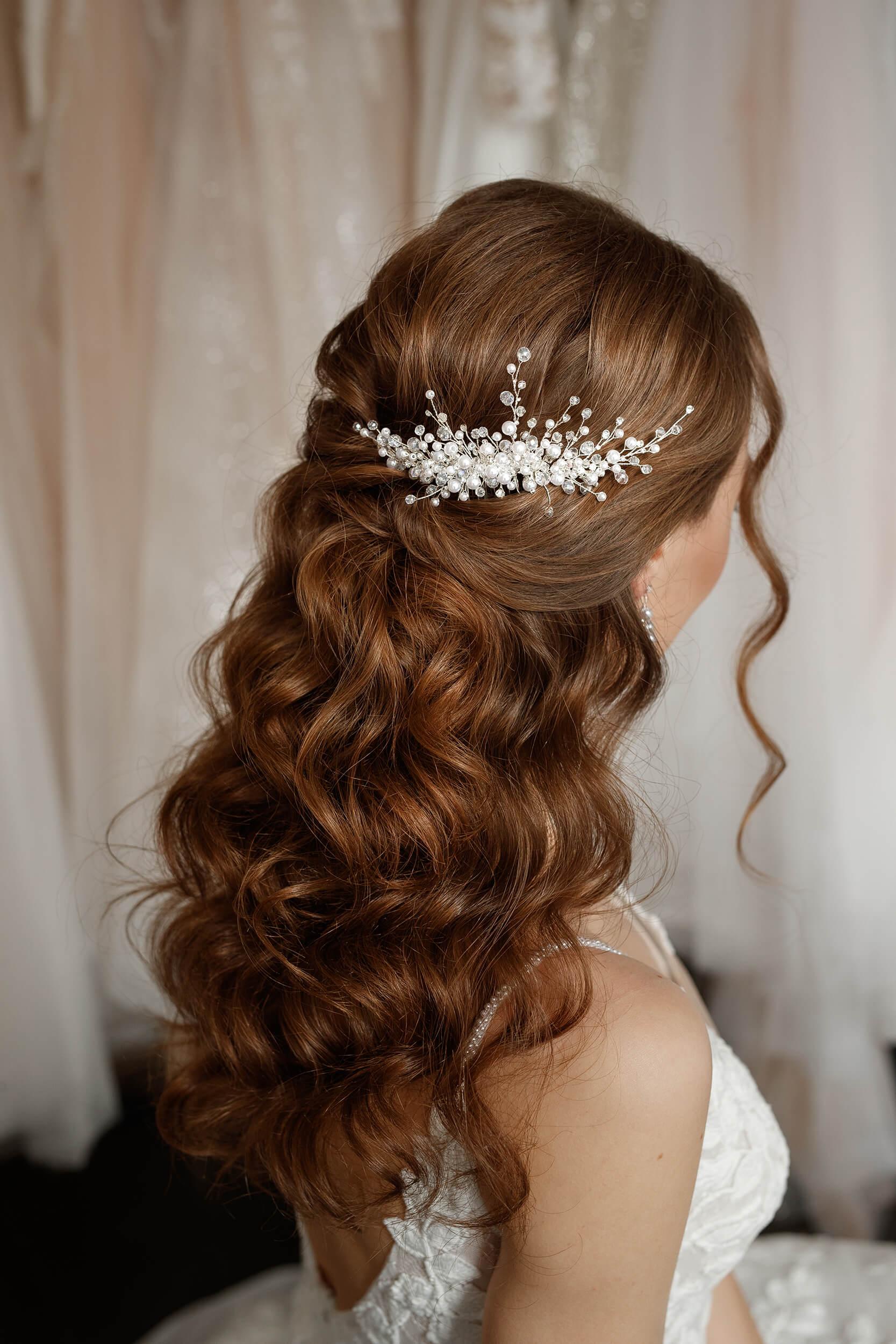 Украшения в волосы для невесты   Vero
