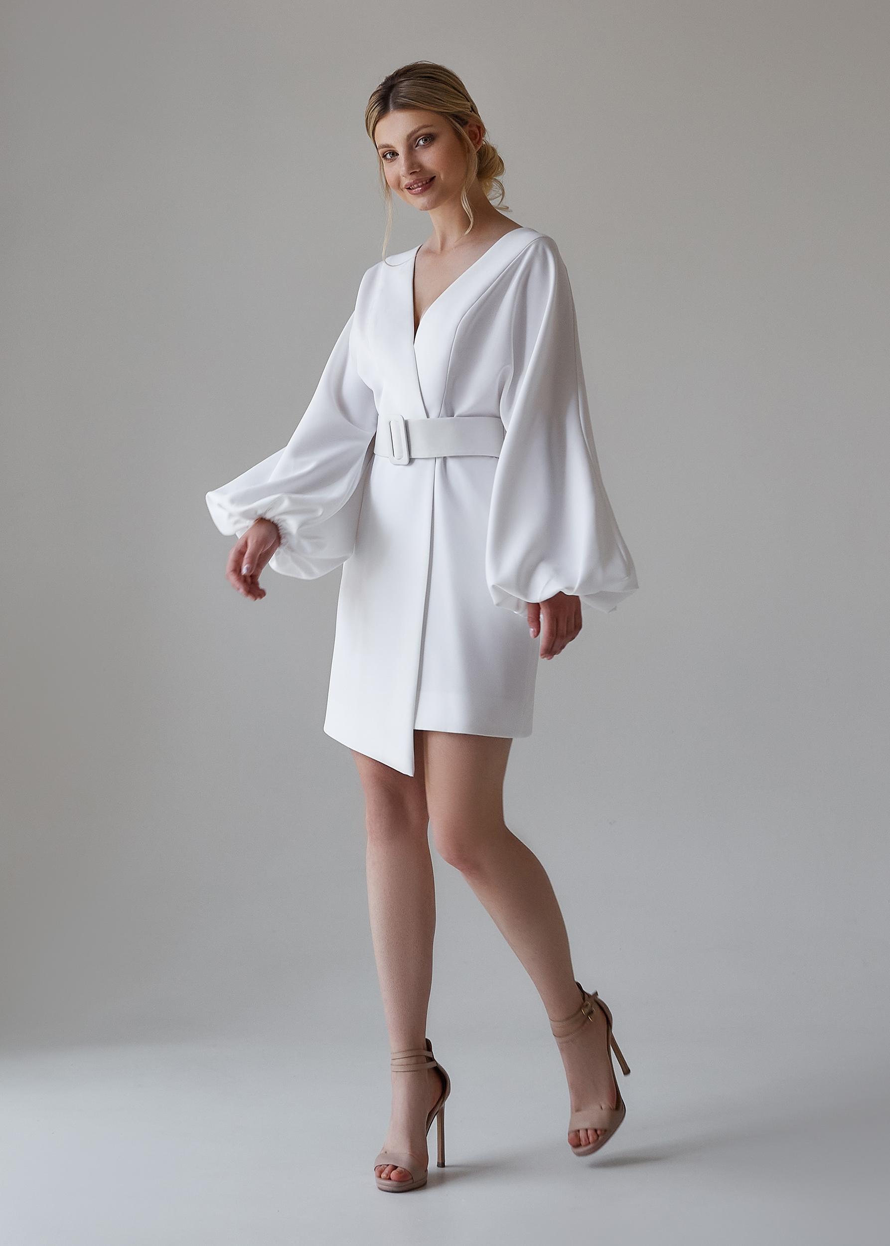 белое короткое платье на свадьбу | Vero