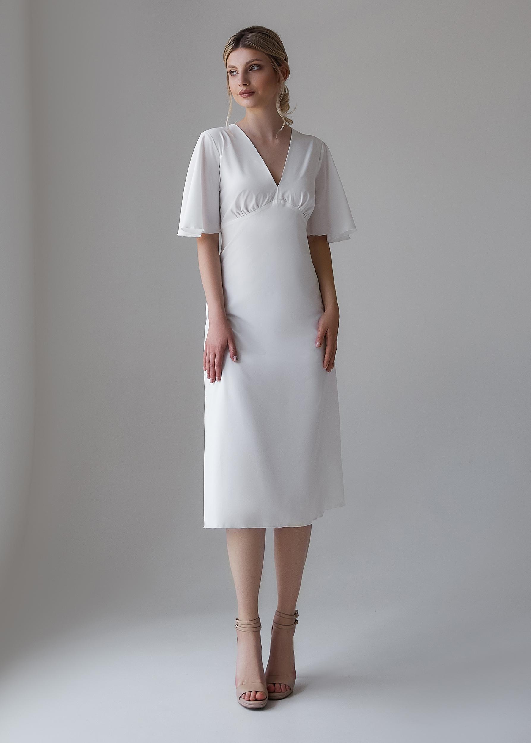 белое платье для росписи | Vero