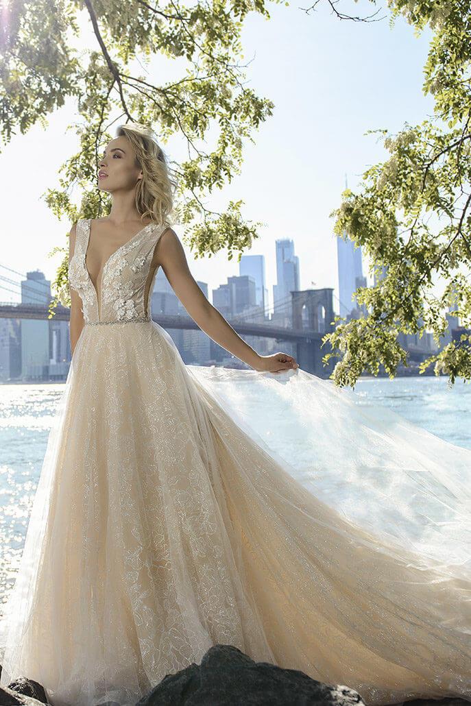 блестящее свадебное платье | Vero