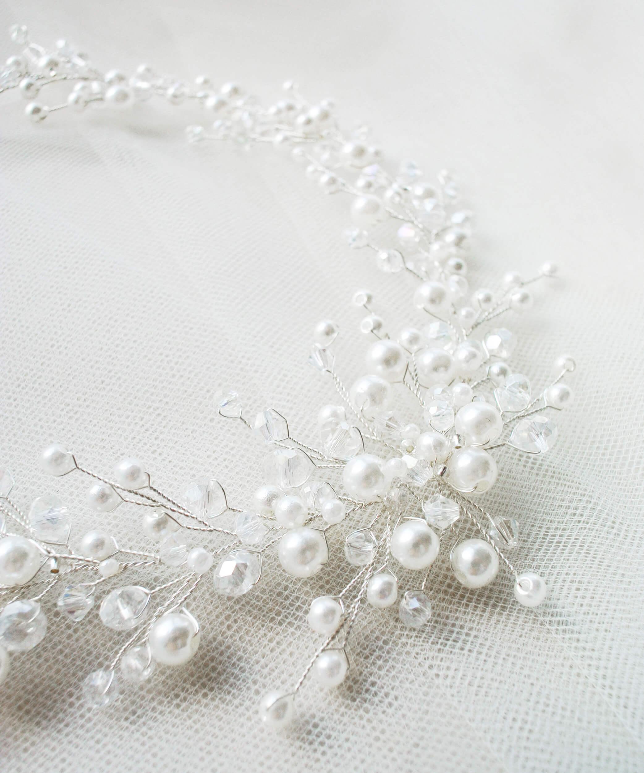 венок для свадебной прически(2) | Vero