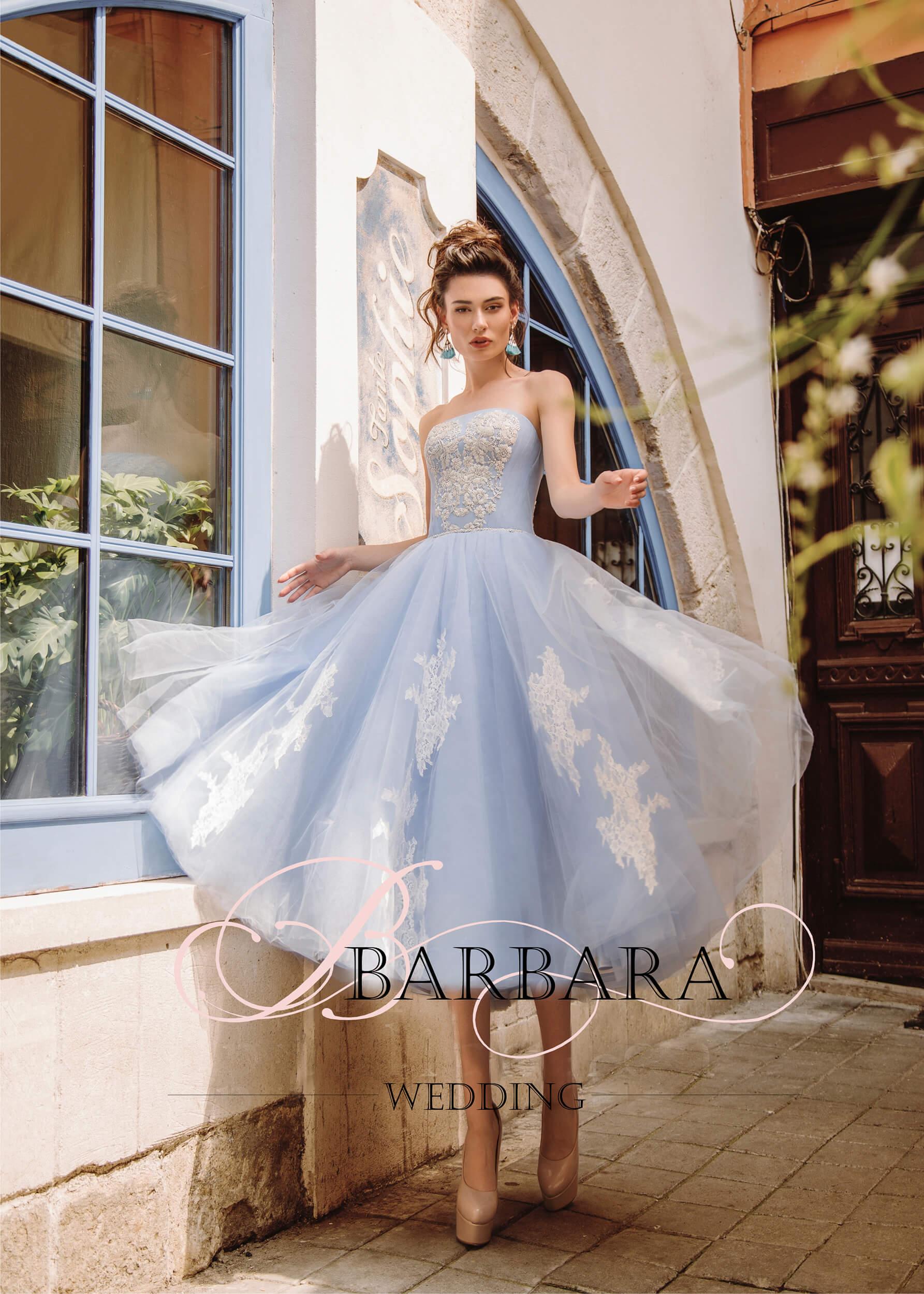 голубое платье | Vero