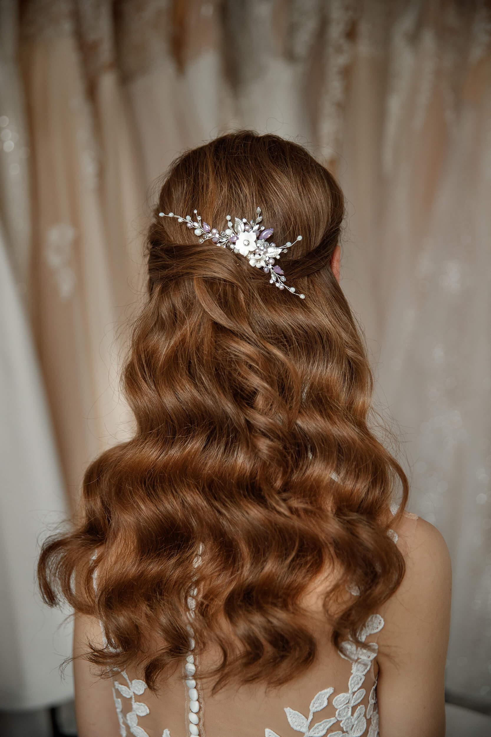 заколка в волосы для невесты | Vero