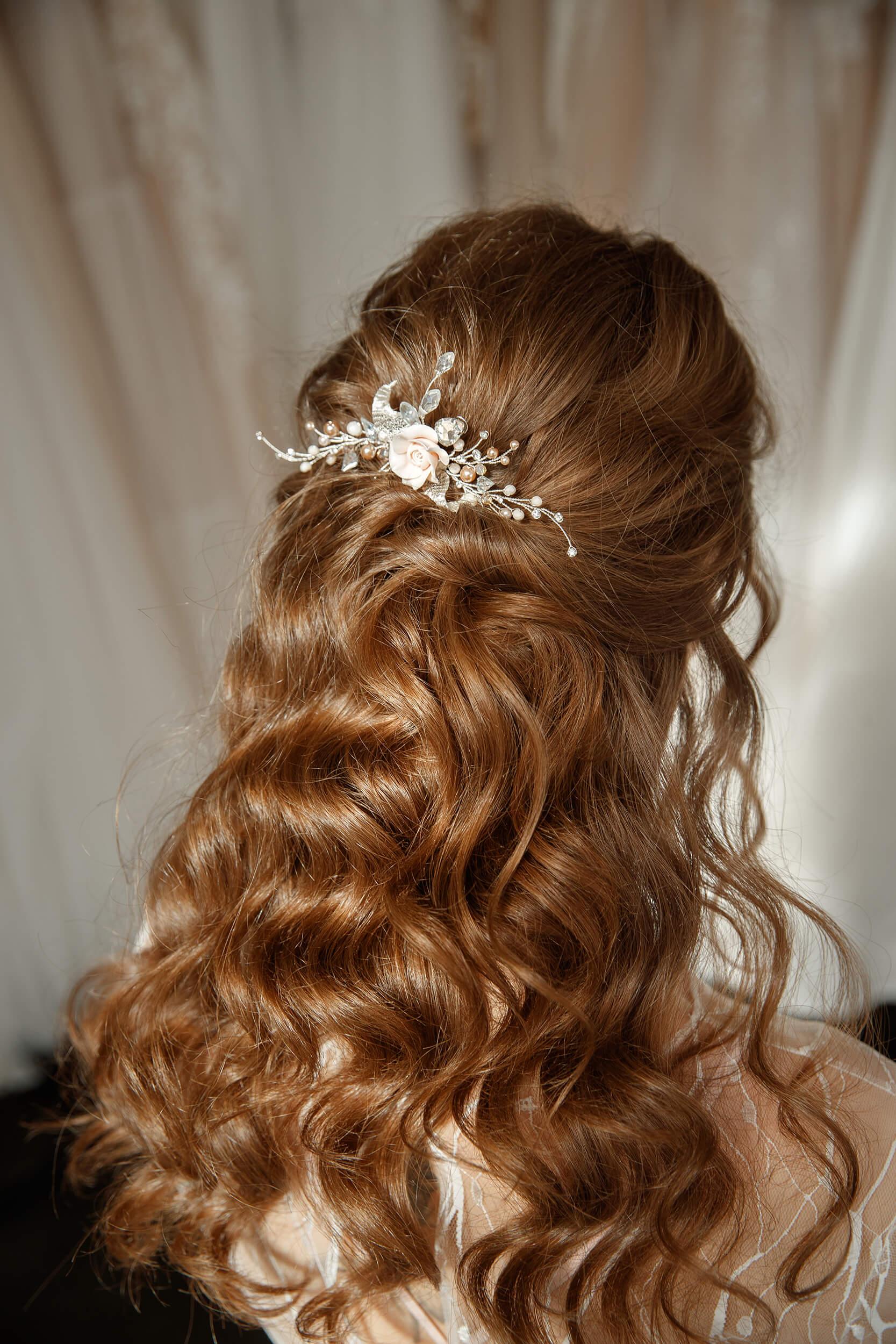 заколки для волос на свадьбу | Vero