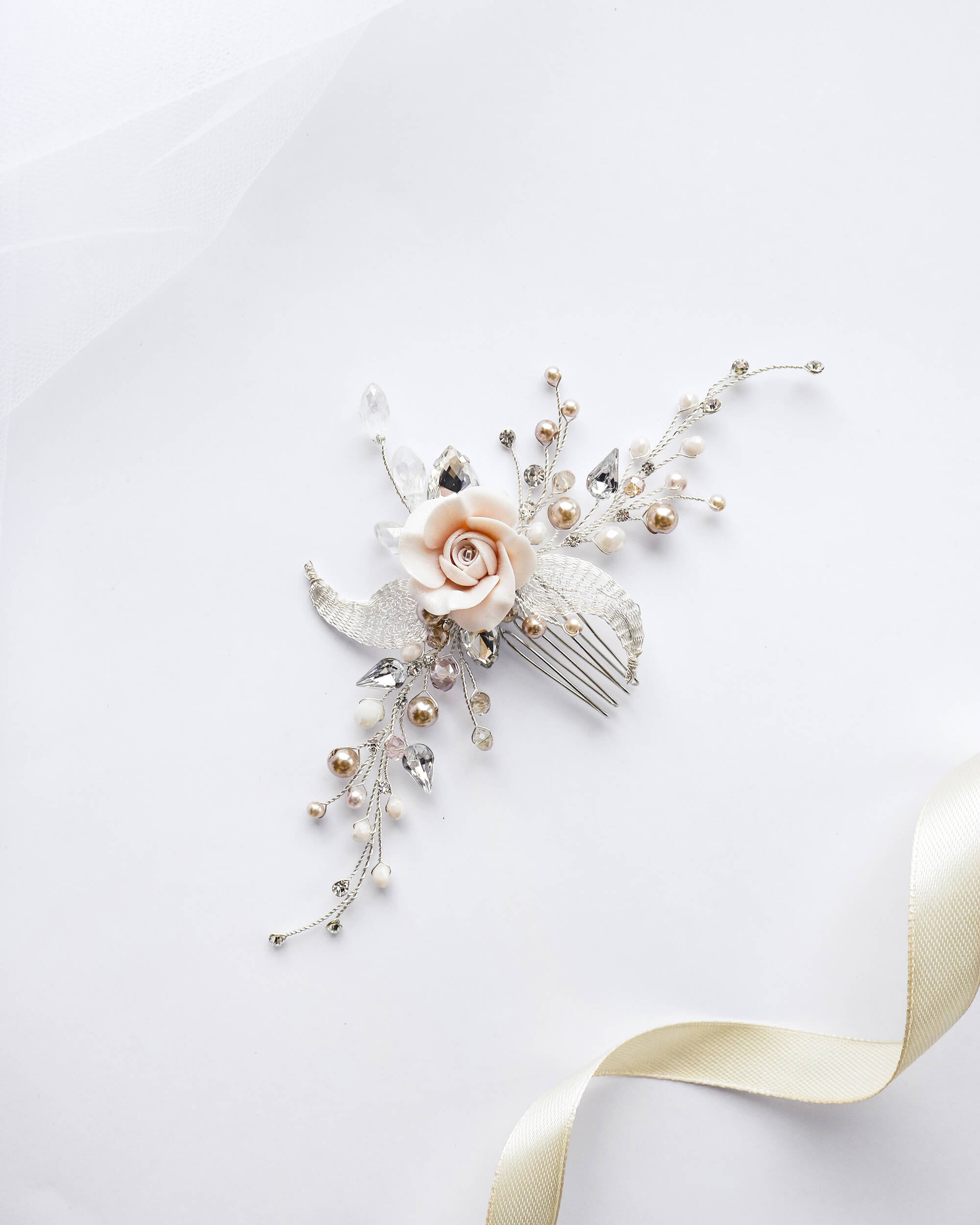 заколки для волос на свадьбу(2) | Vero