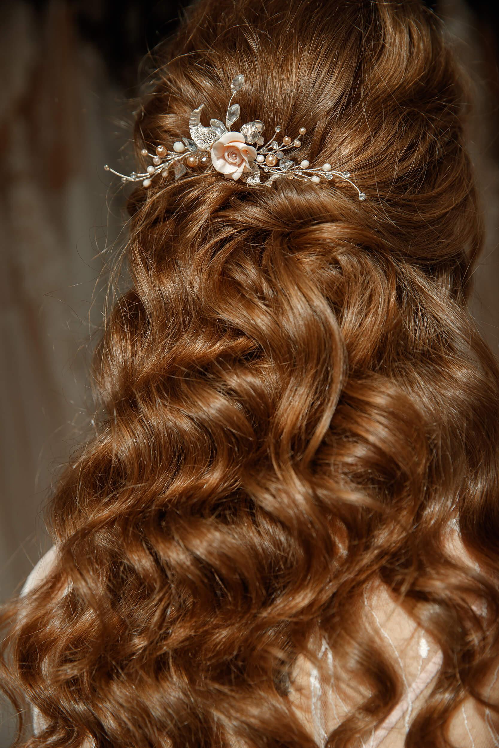 заколки для волос на свадьбу(3) | Vero