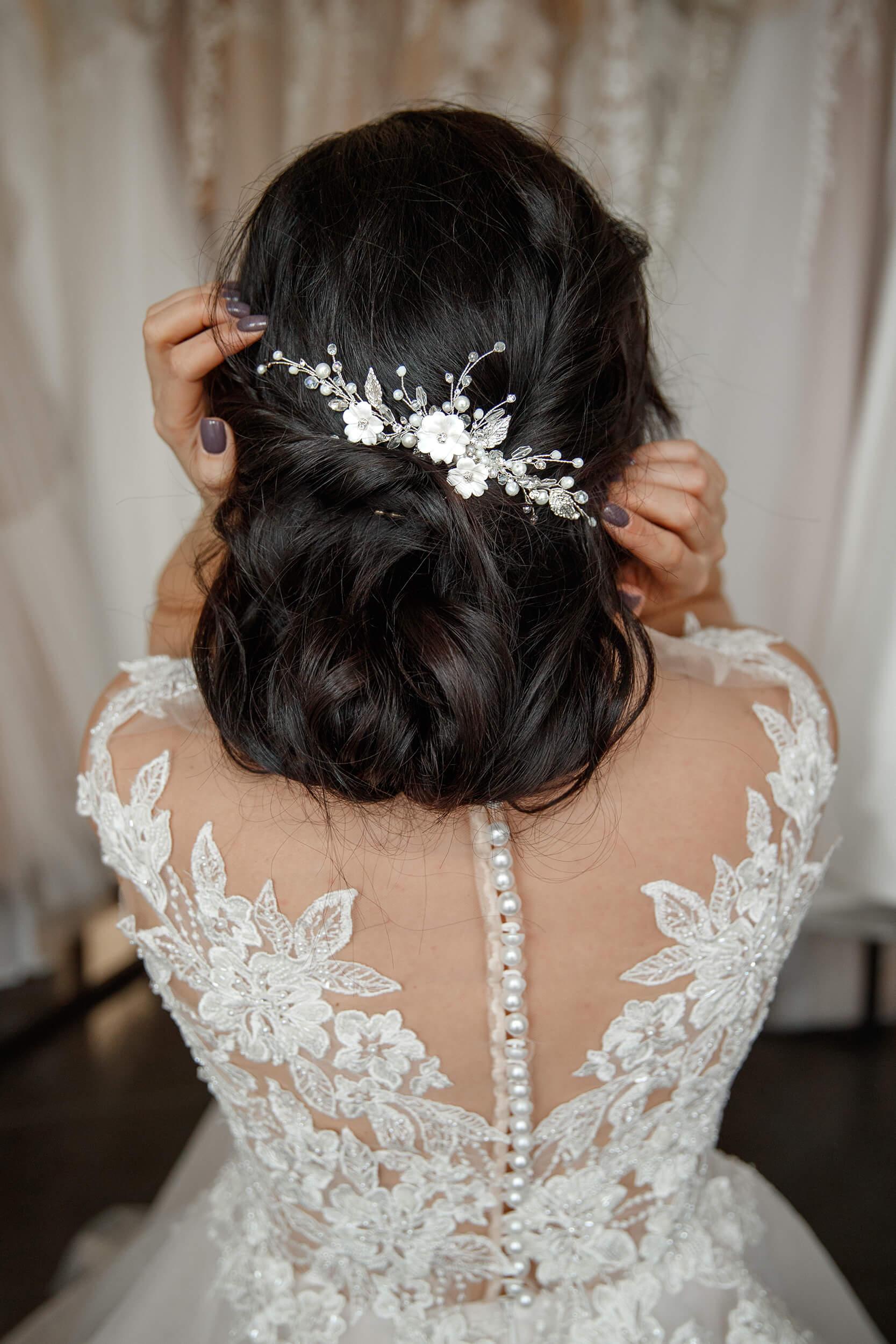 заколки для волос с цветами | Vero