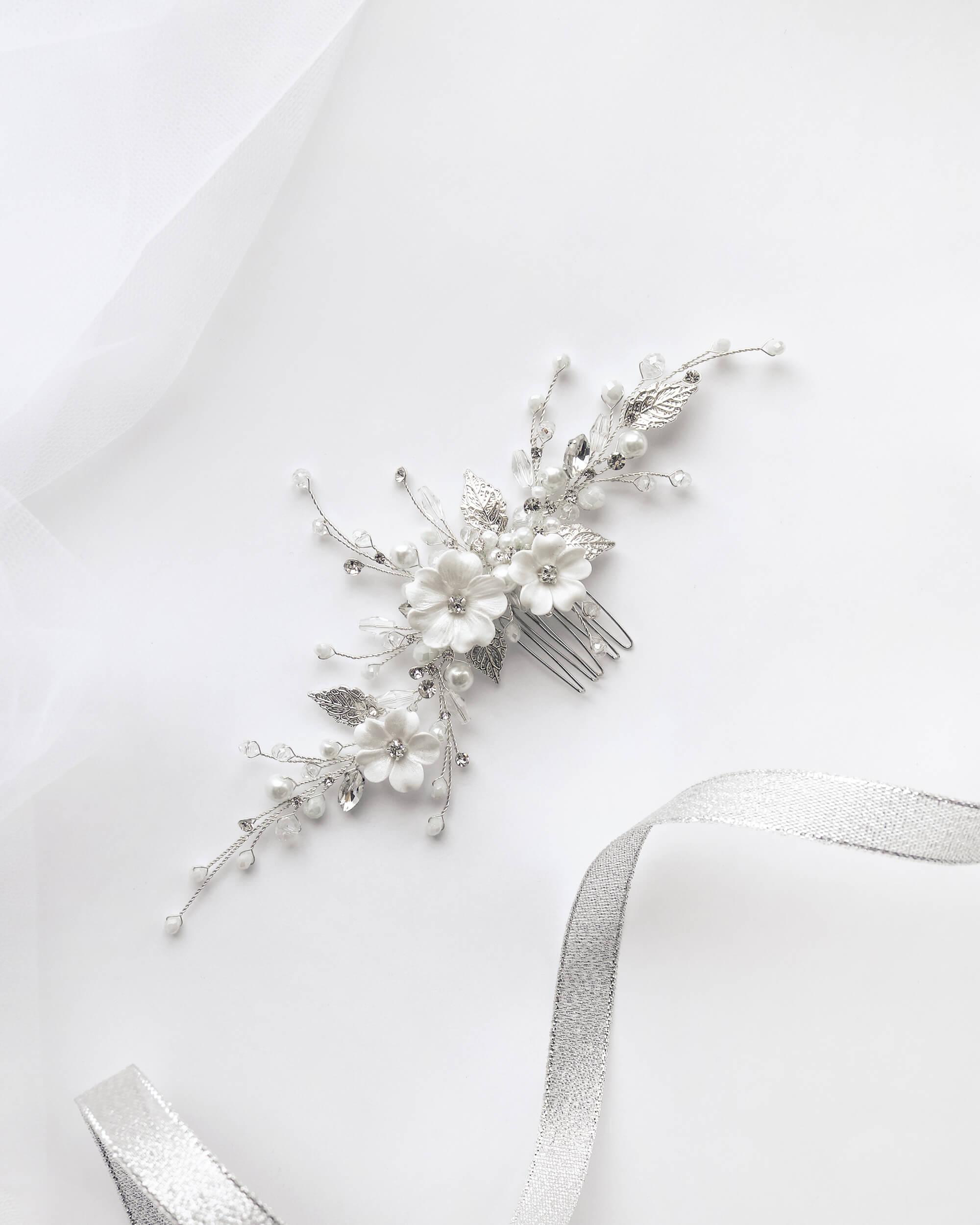 заколки для волос с цветами(2) | Vero