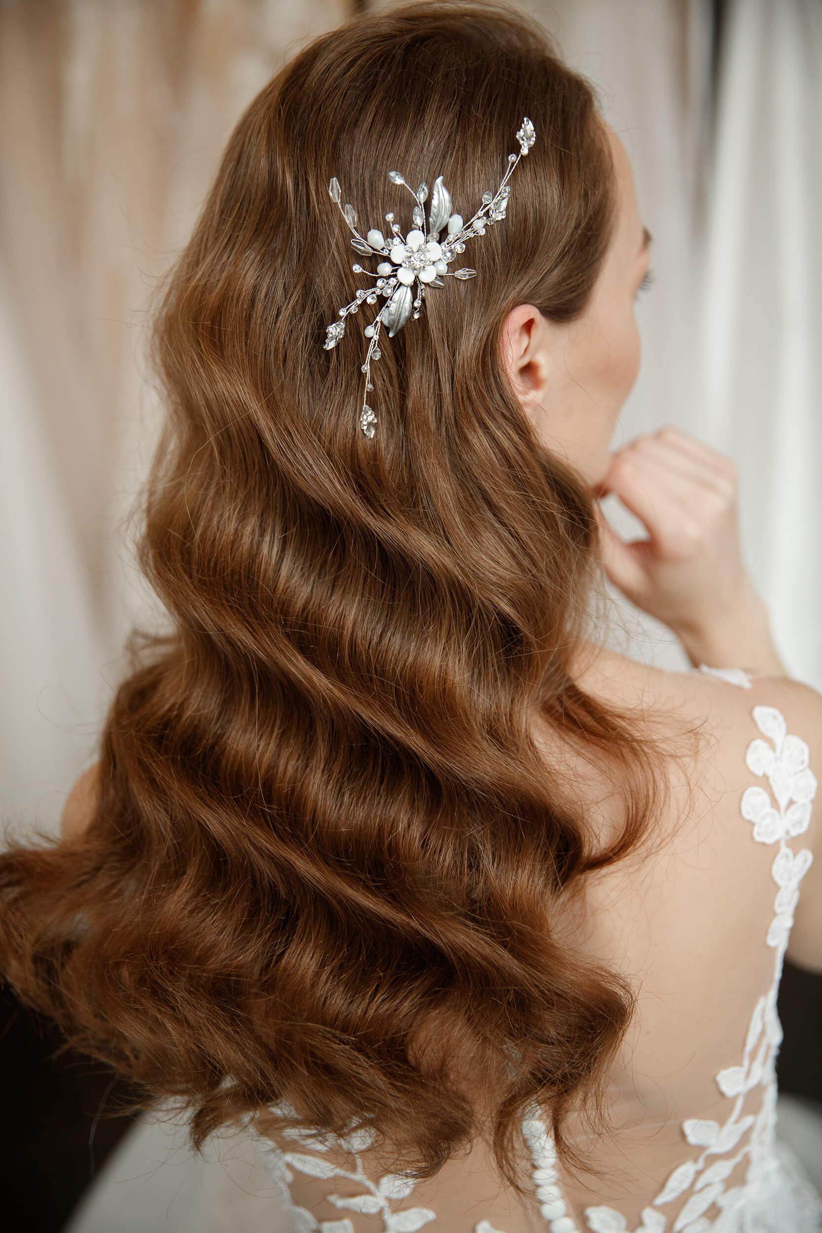 заколки для свадебных причесок | Vero