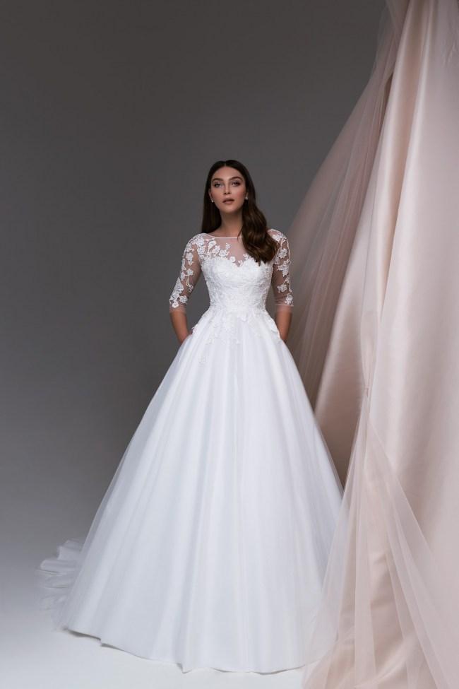 классическое свадебное платье   Vero