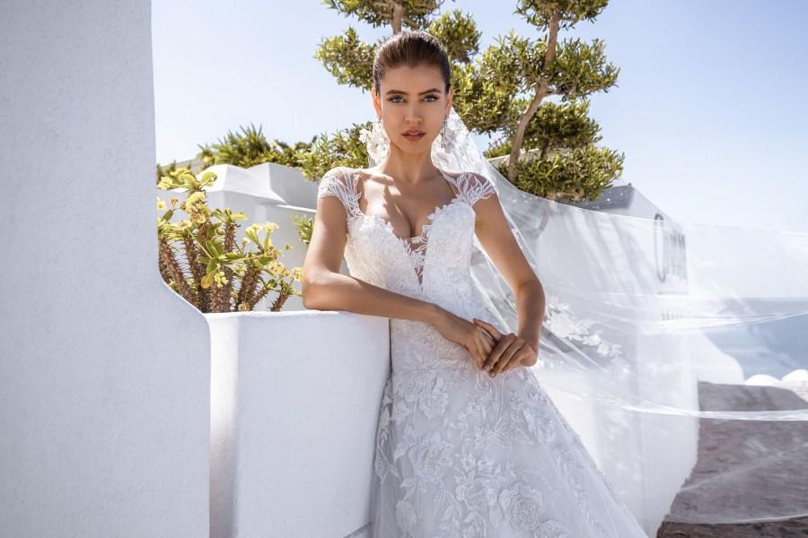 красивое свадебное платье   Vero