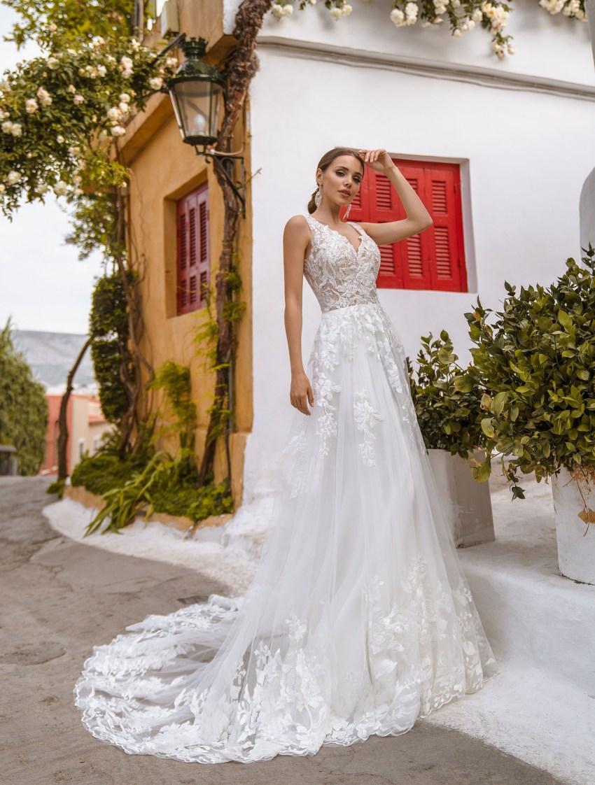облегающее свадебное платье | Vero
