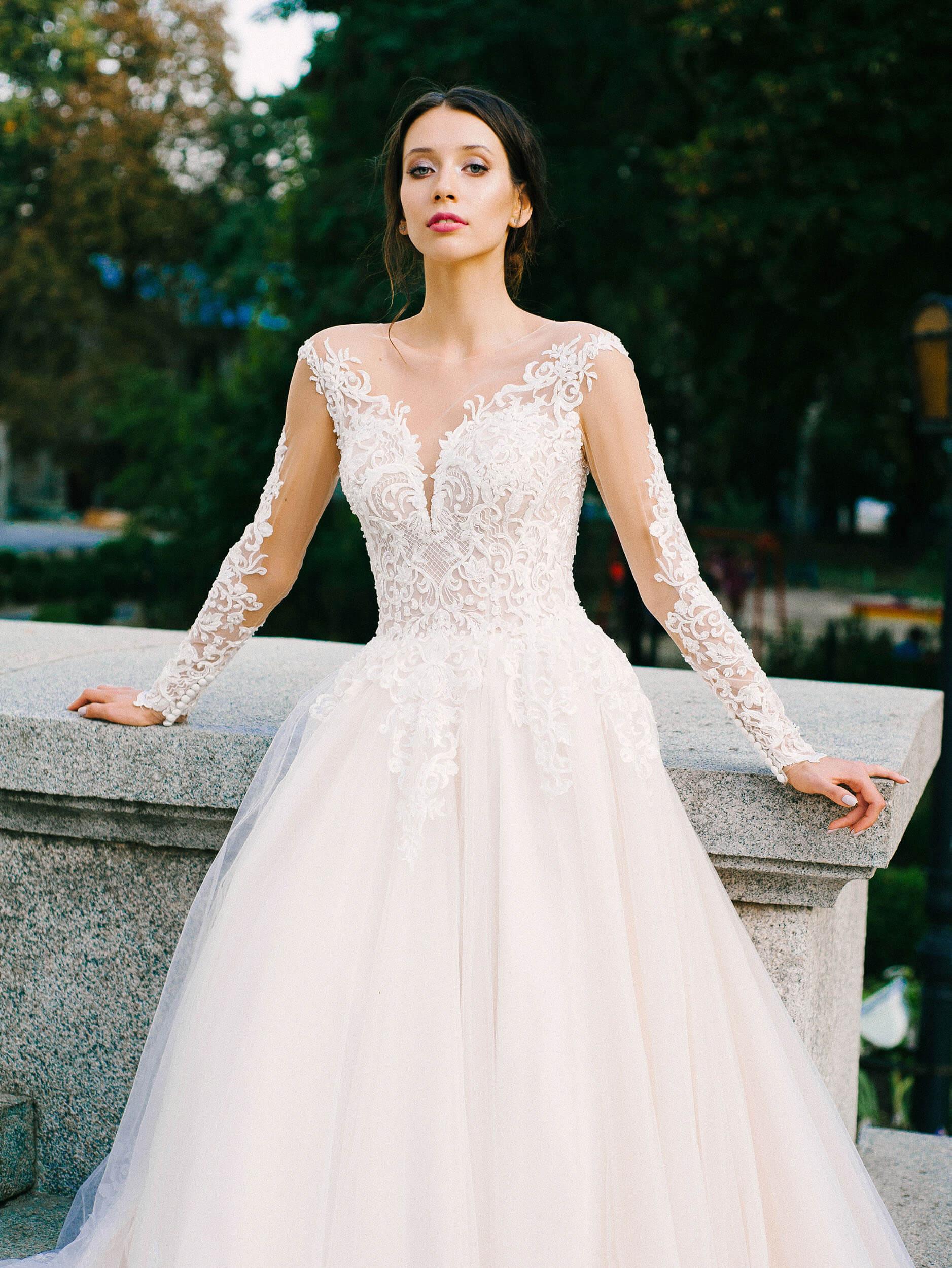 очень пышные свадебные платья с корсетом(1) | Vero