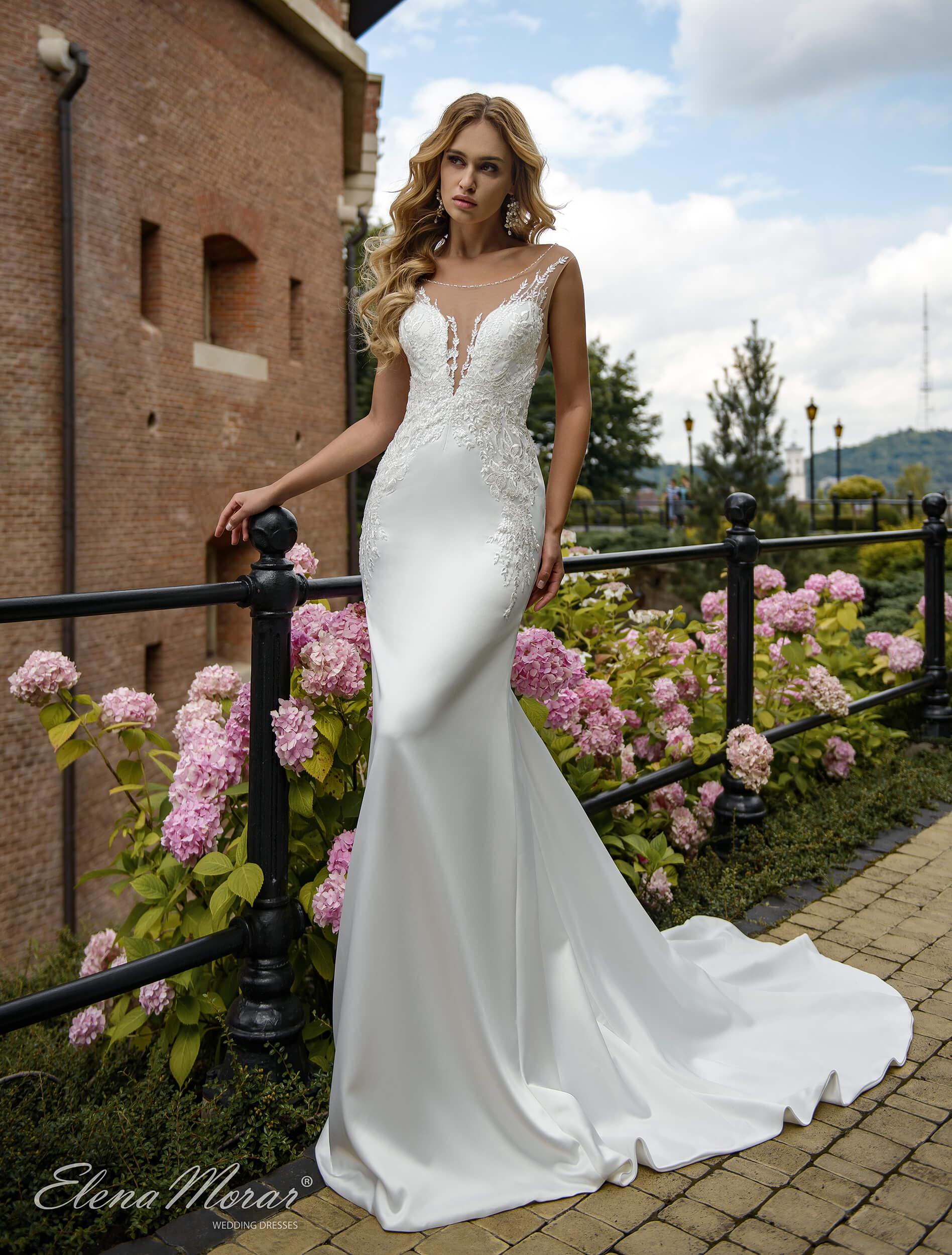 платье русалка со шлейфом(1) | Vero