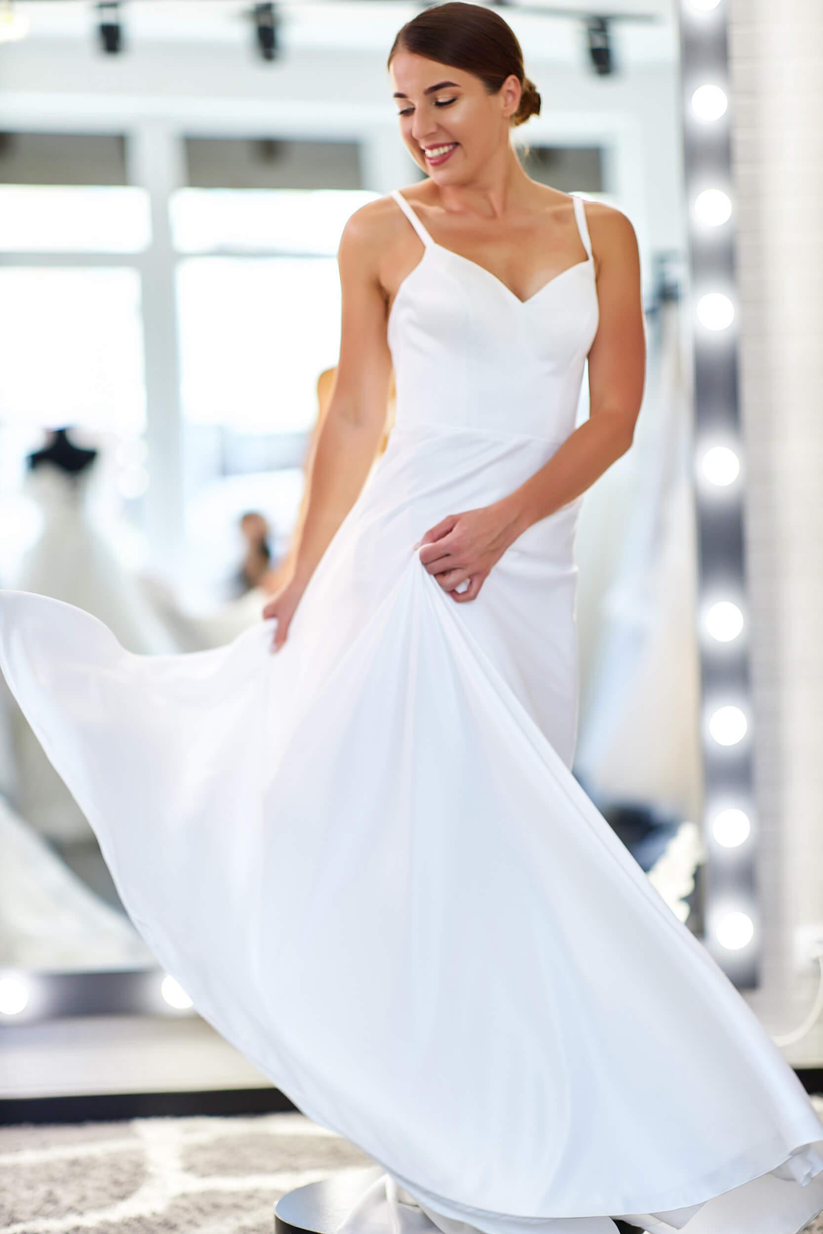 простое элегантное свадебное платье | Vero