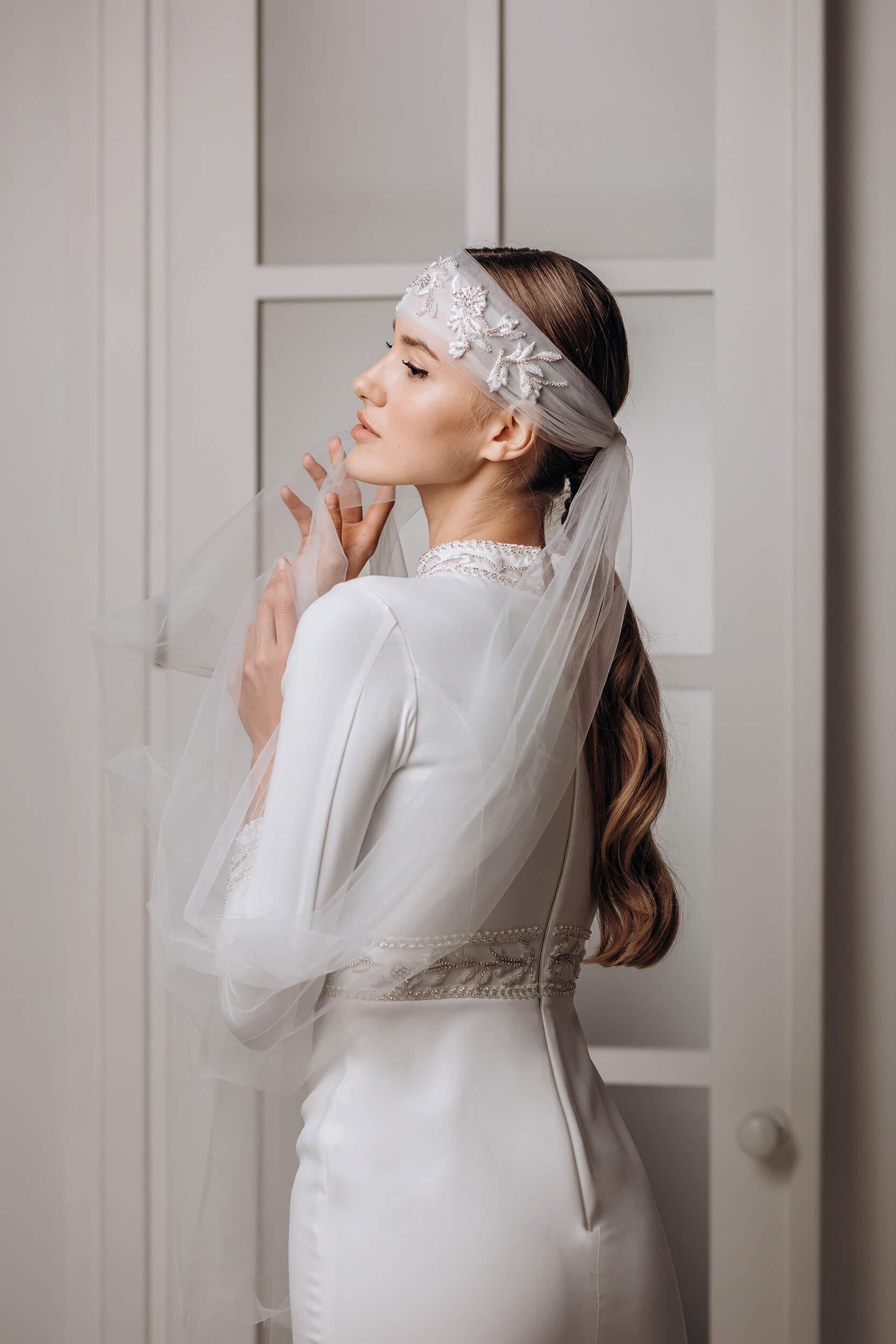 прямые свадебные платья с кружевом | Vero