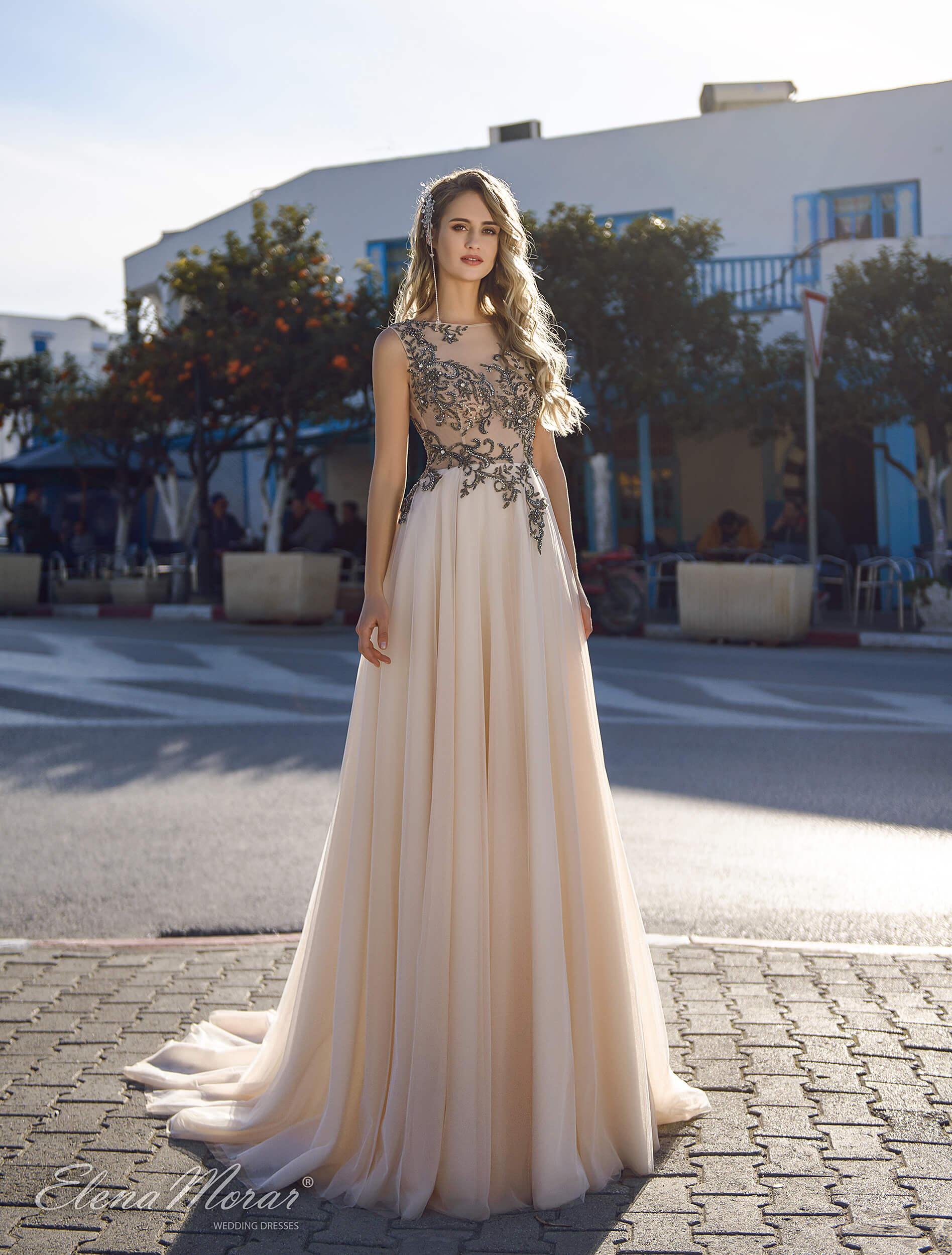 прямые свадебные платья с кружевом(1) | Vero