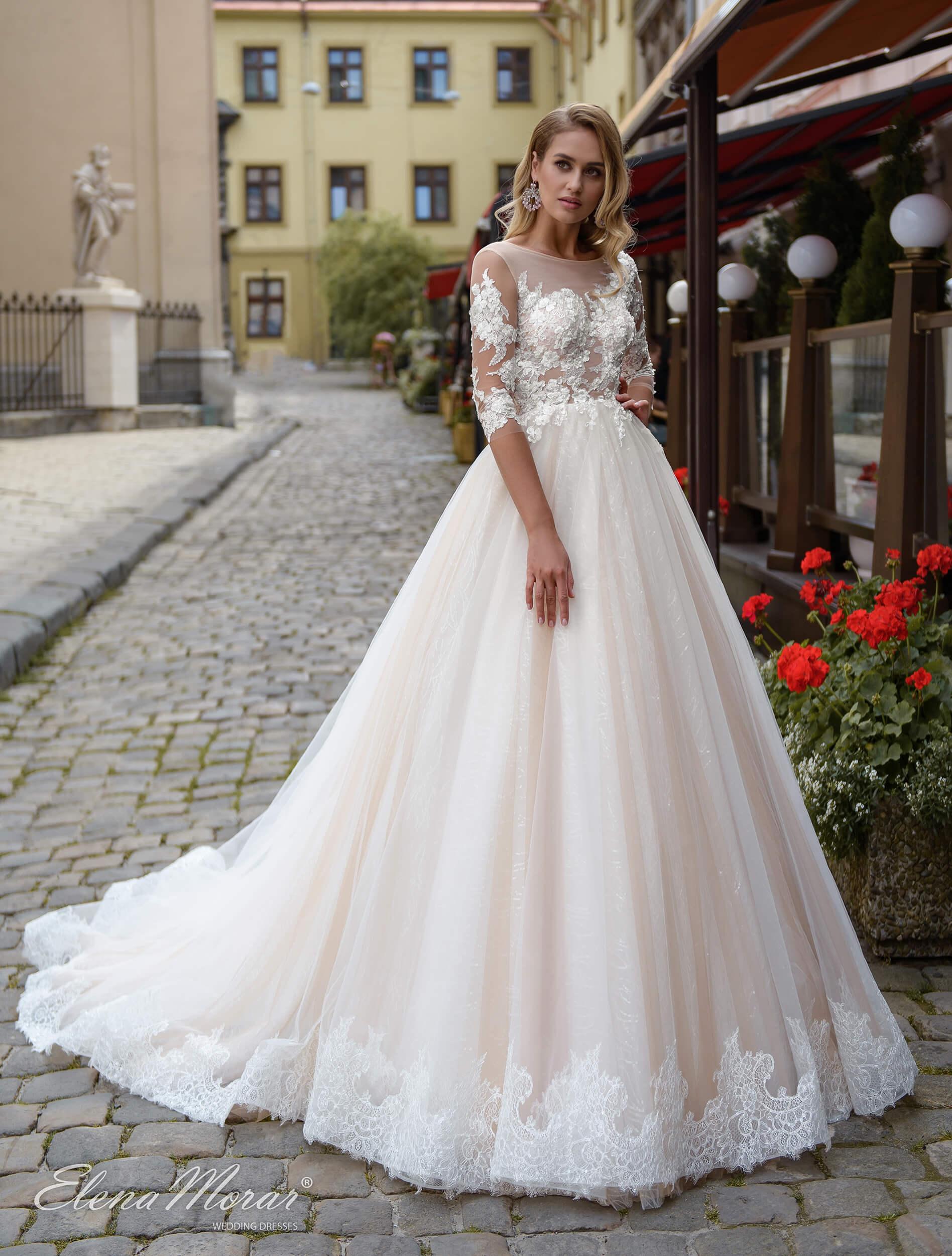 пышные свадебные платья со шлейфом (1) | Vero