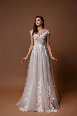 розовое свадебное платье (1)   Vero