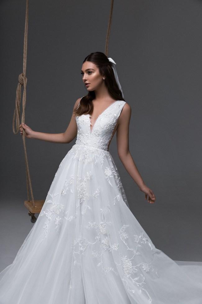 свадебное платье а силуэт | Vero