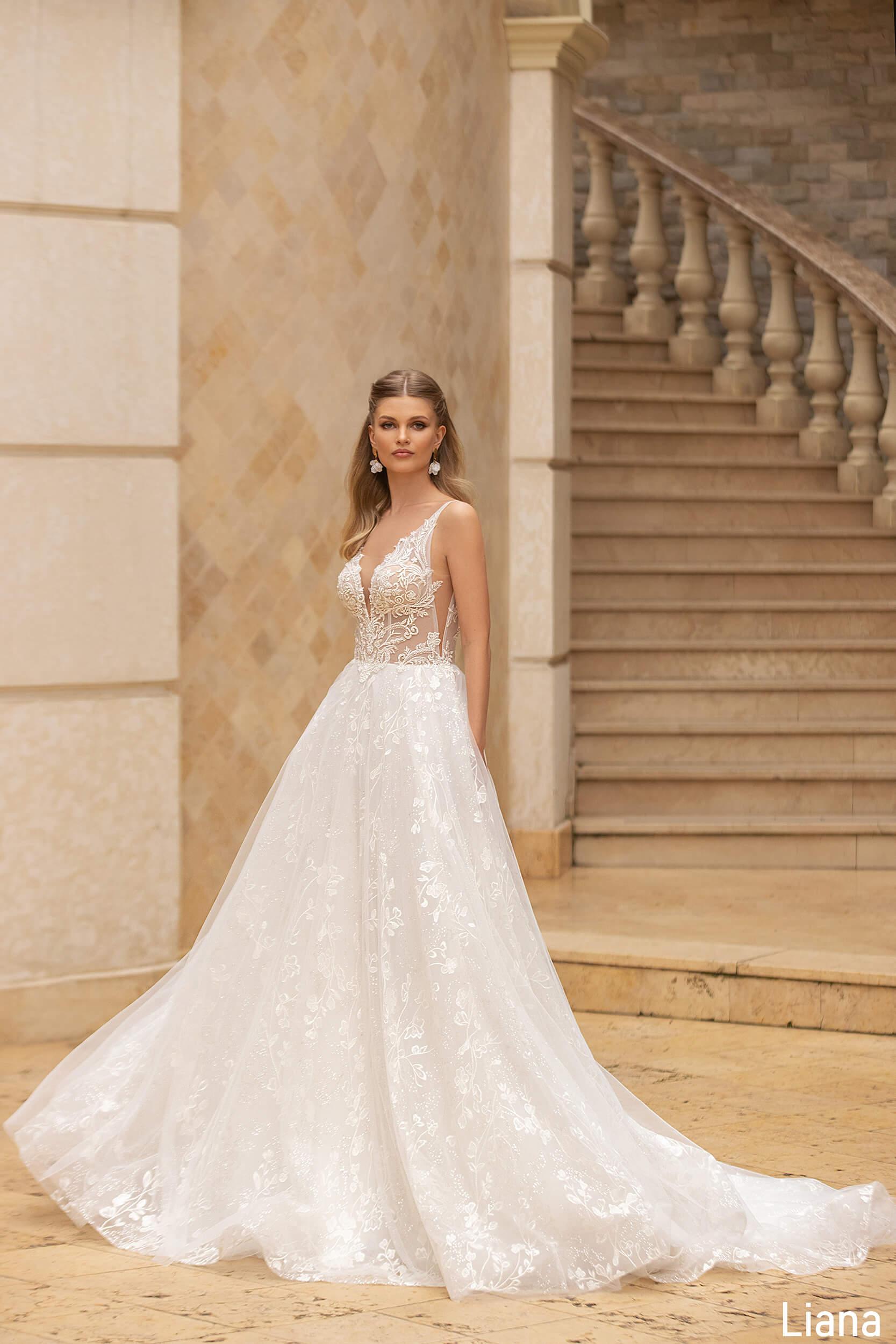 свадебное платье без рукавов(1) | Vero