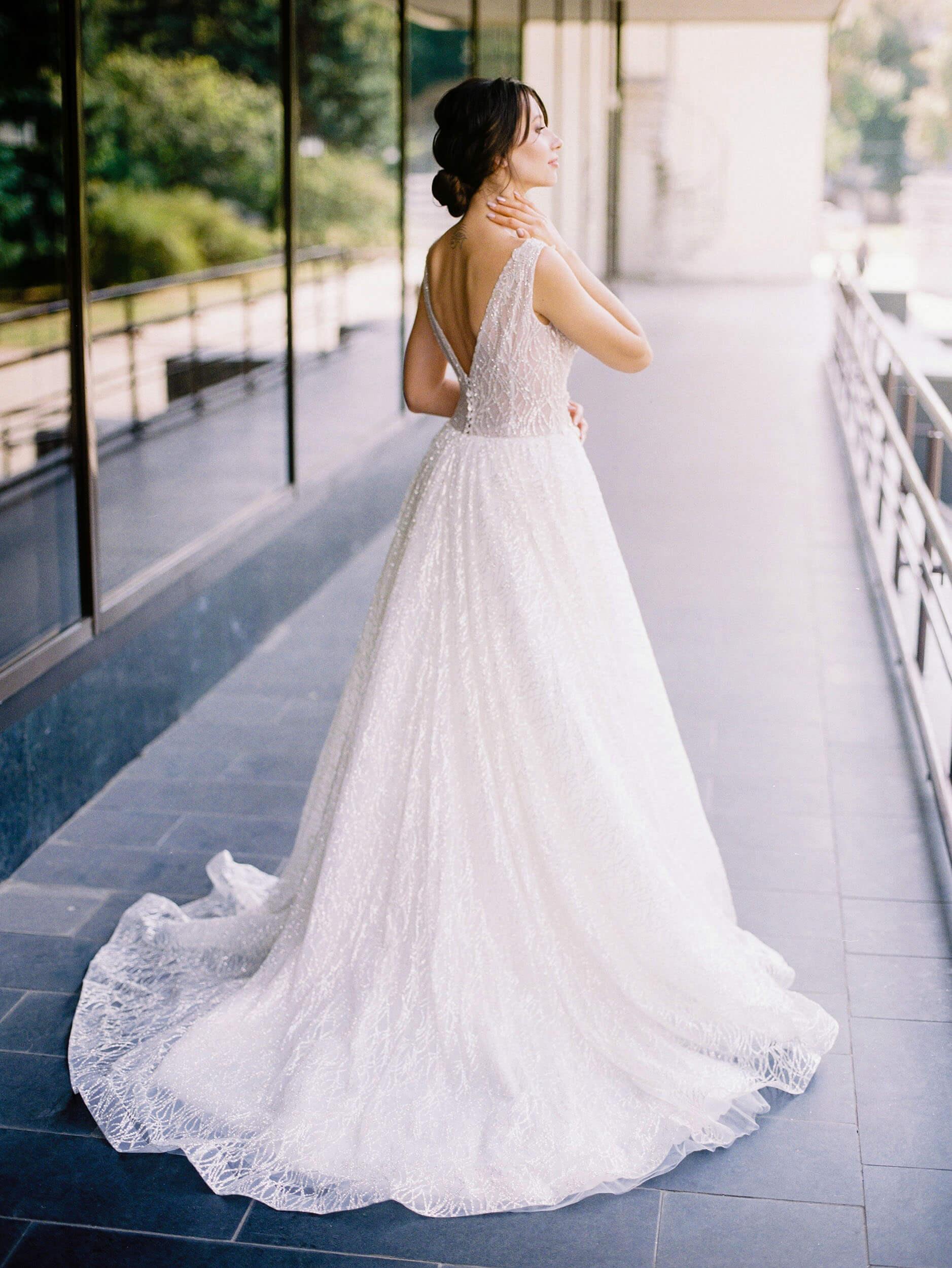 свадебное платье без рукавов(3) | Vero