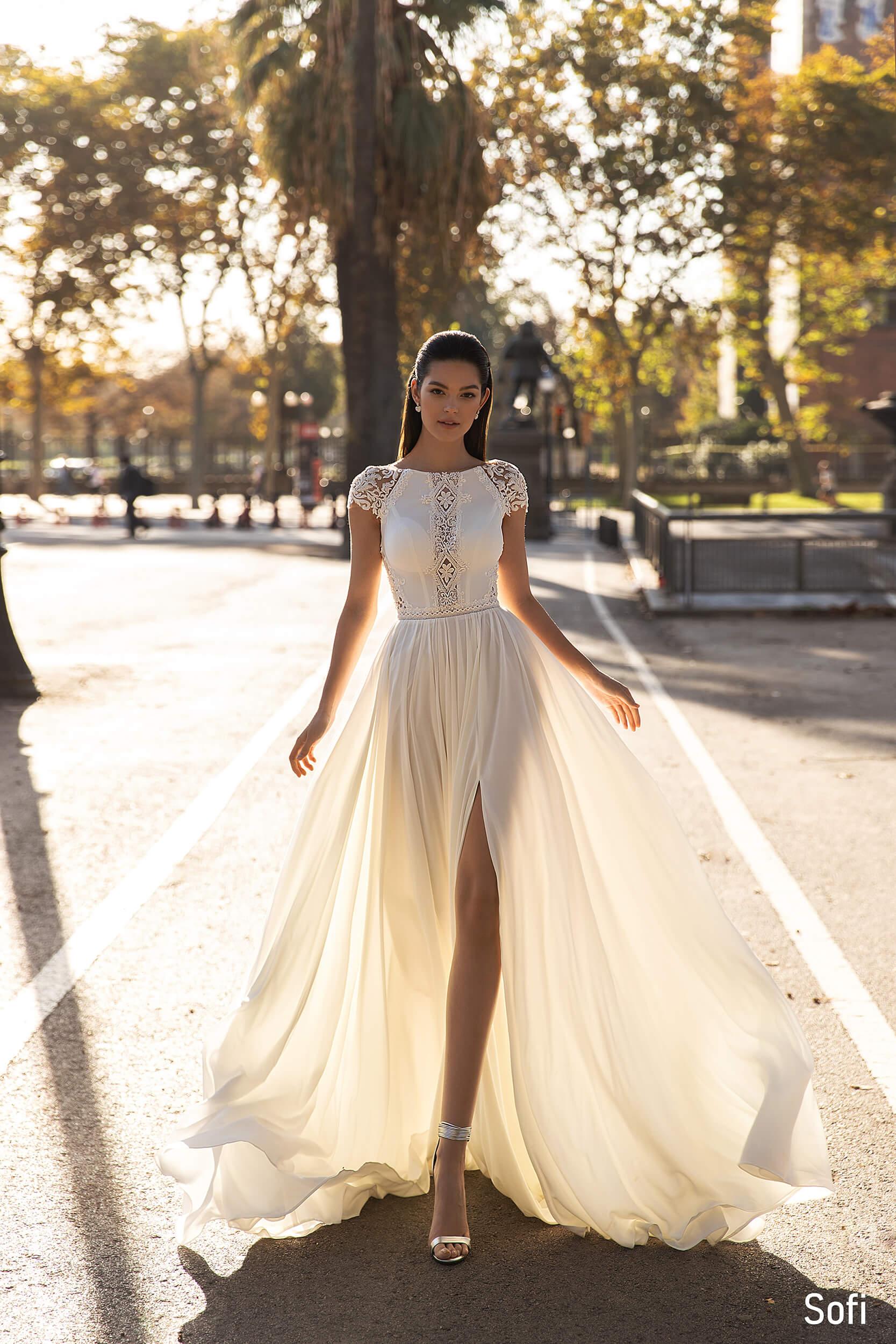 свадебное платье в стиле бохо | Vero