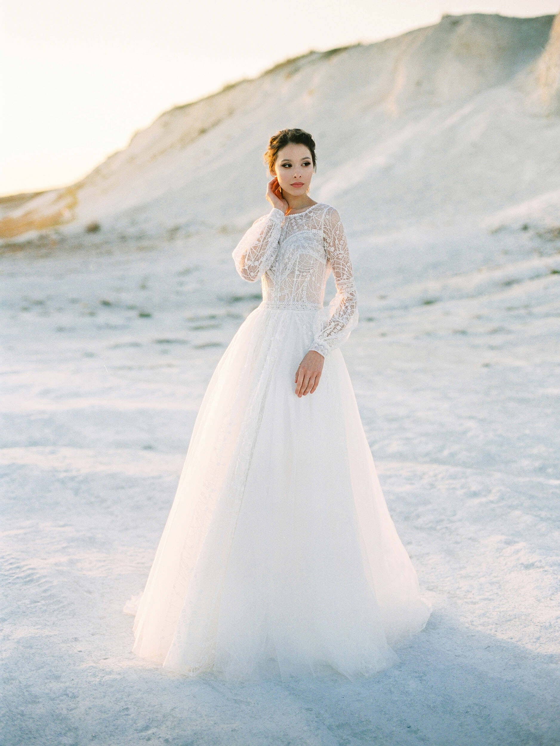 свадебное платье молочного цвета | Vero