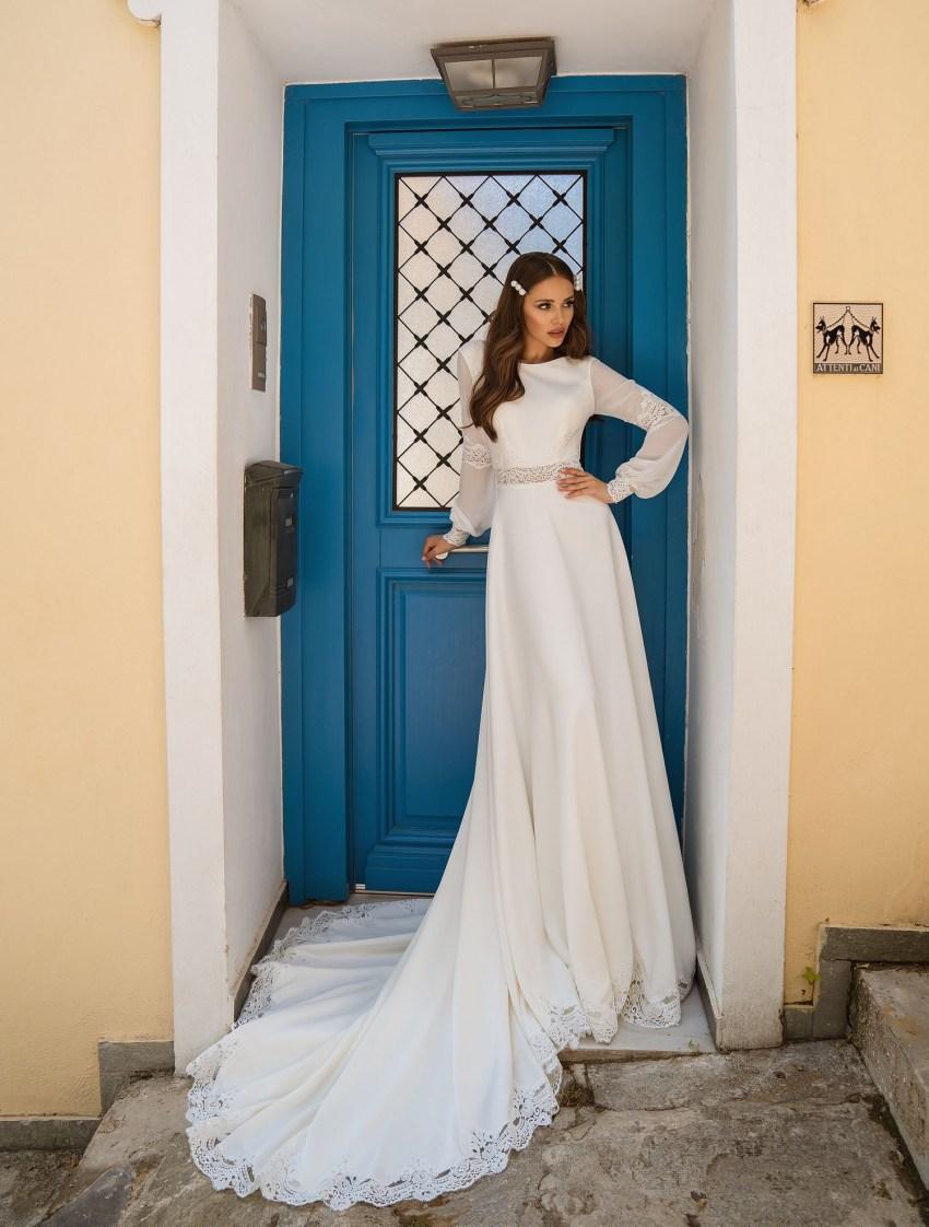 свадебное платье простое   Vero