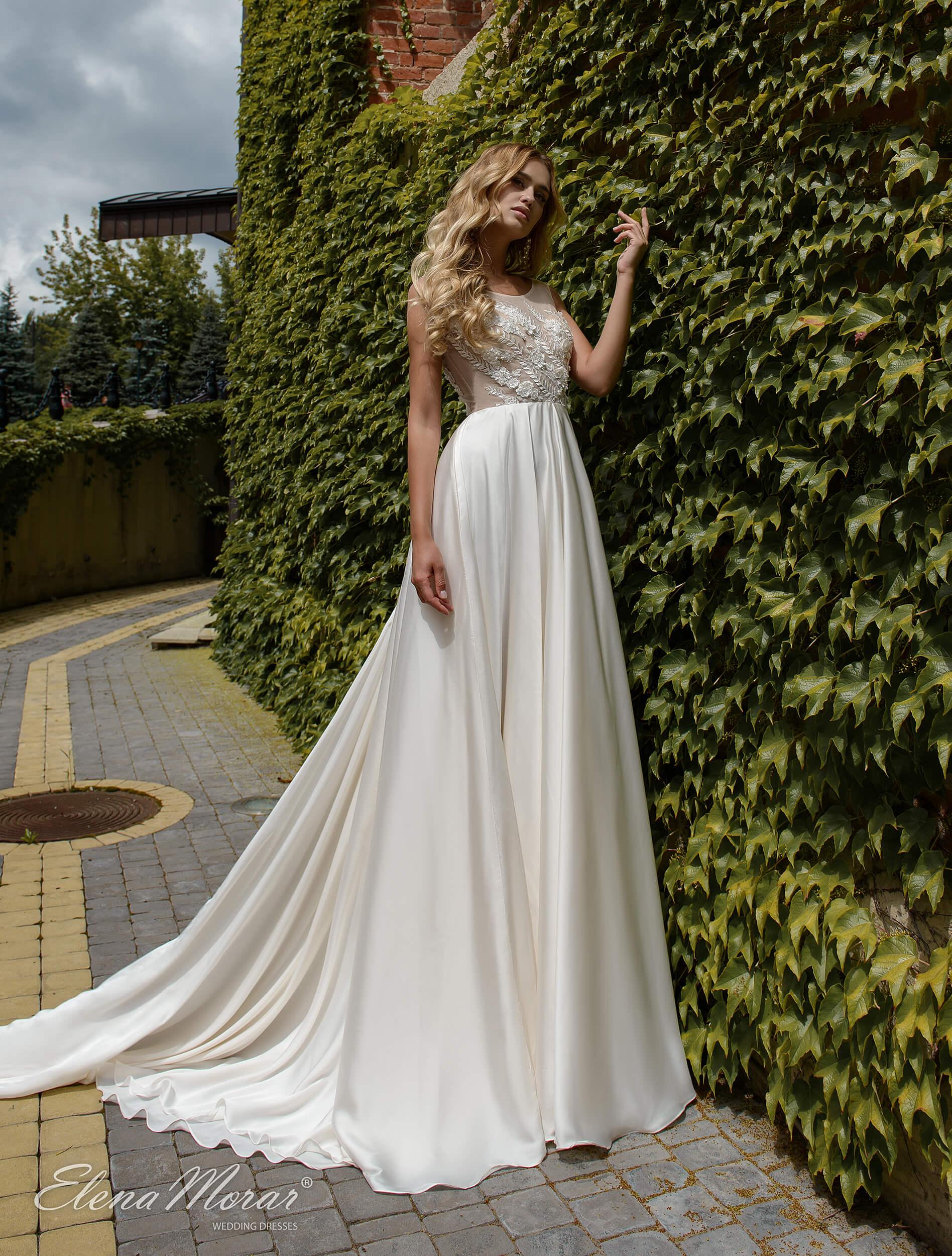 свадебное платье прямое (1) | Vero