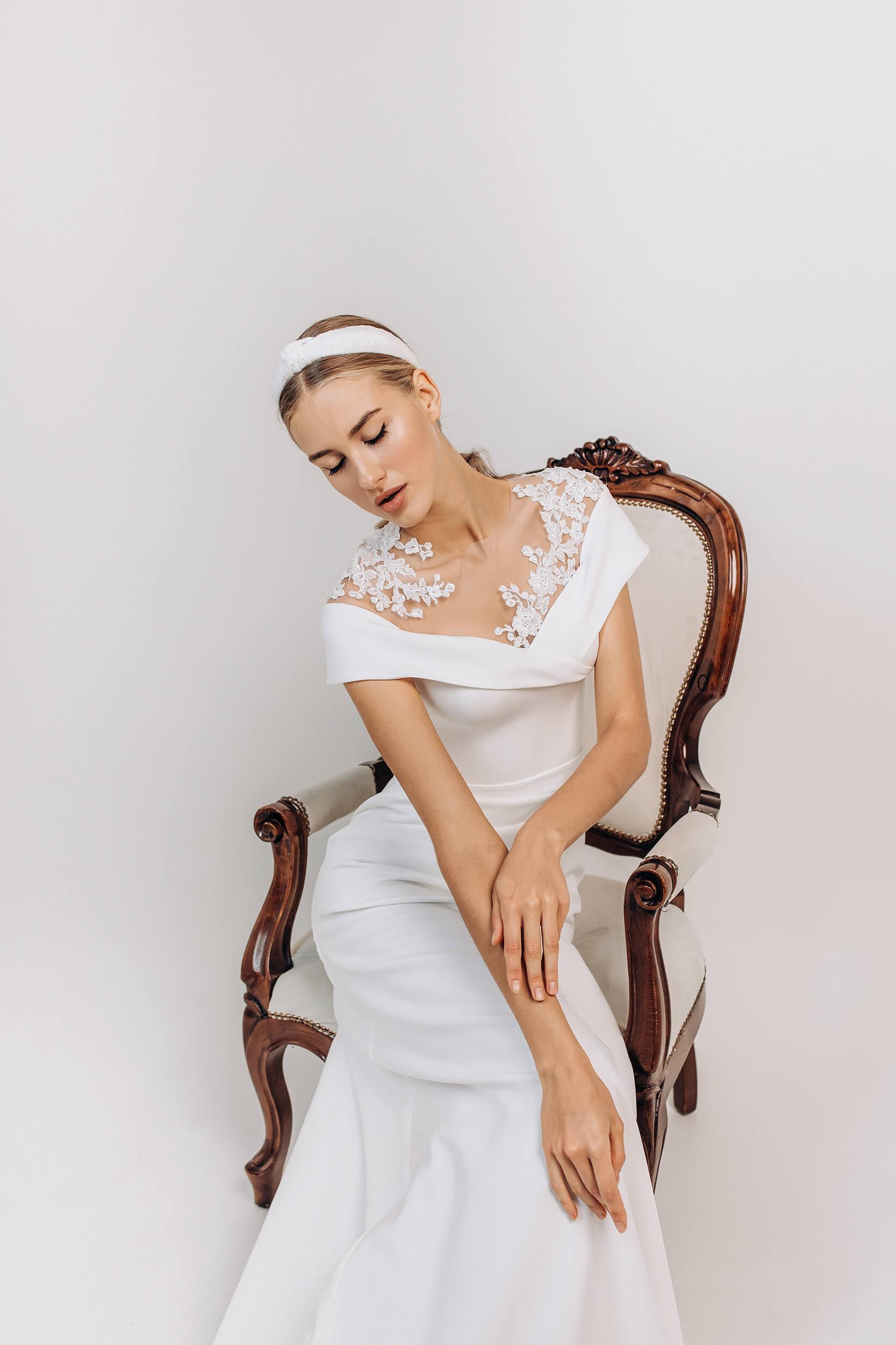свадебное платье прямое | Vero