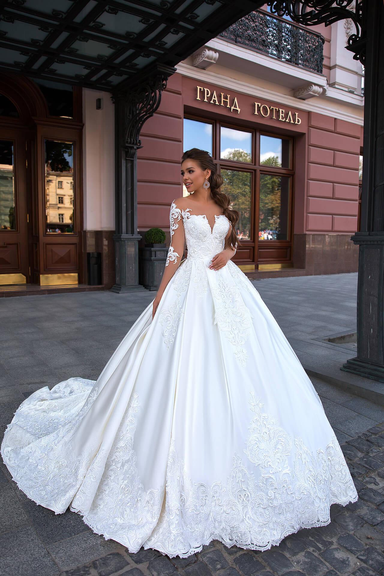 792446ecb57 Свадебное платье Mercedez — Vero — Cвадебный салон