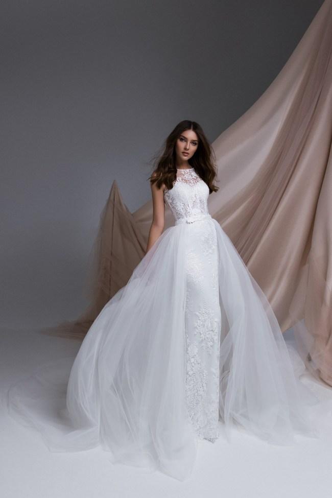 свадебное платье со съемной юбкой   Vero
