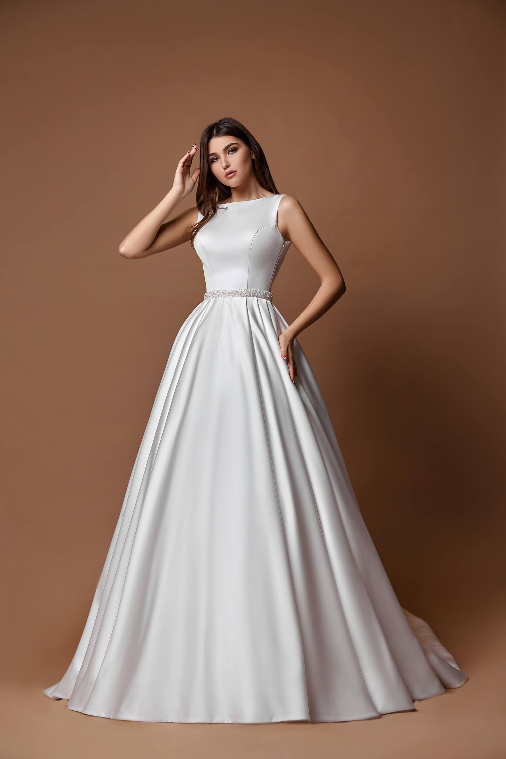 свадебное платье с кружевной спиной (1) | Vero