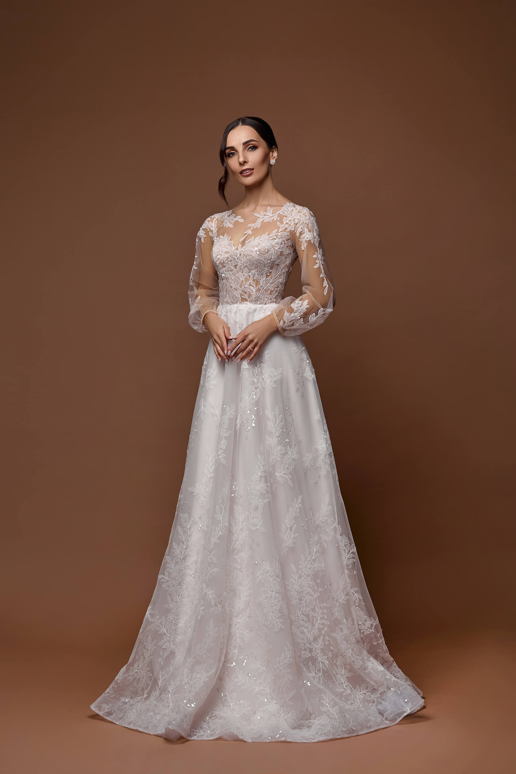 свадебное прямое платье(1) | Vero