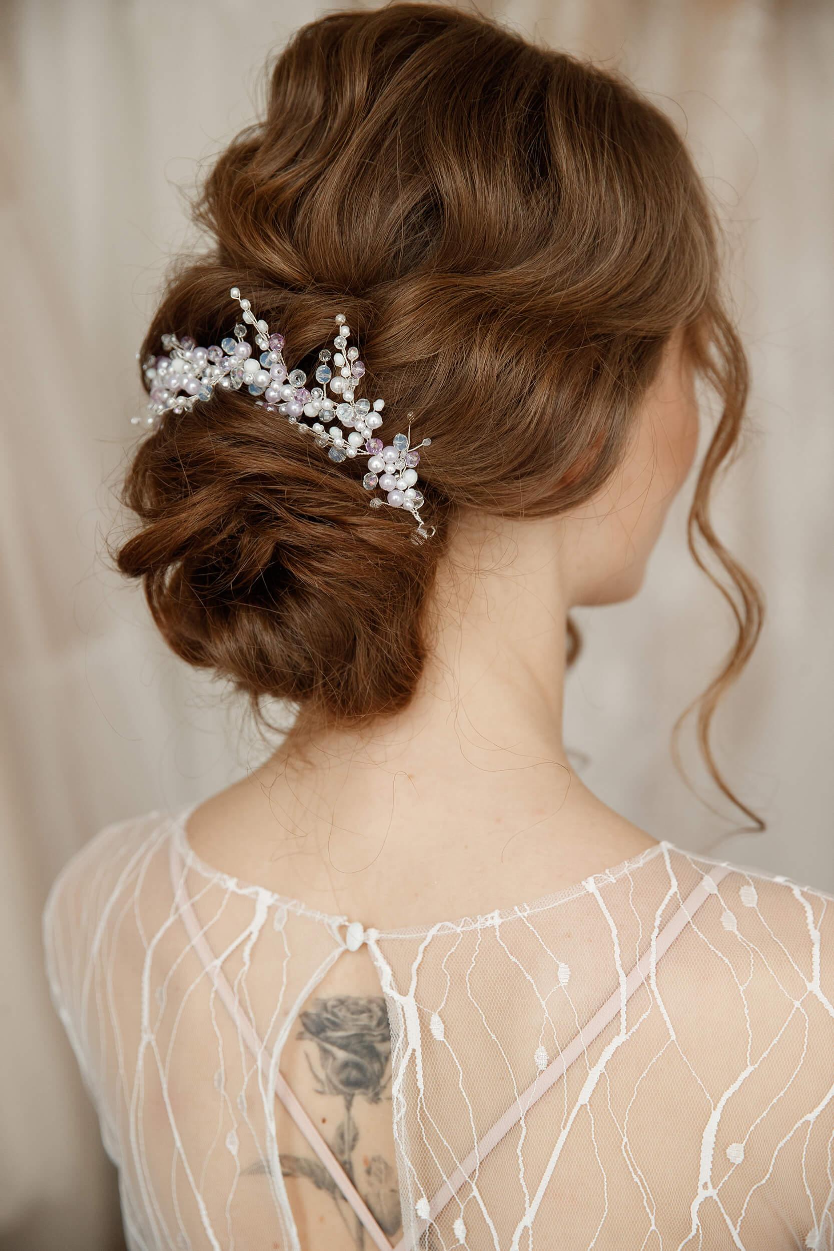 свадебные аксессуары для волос | Vero