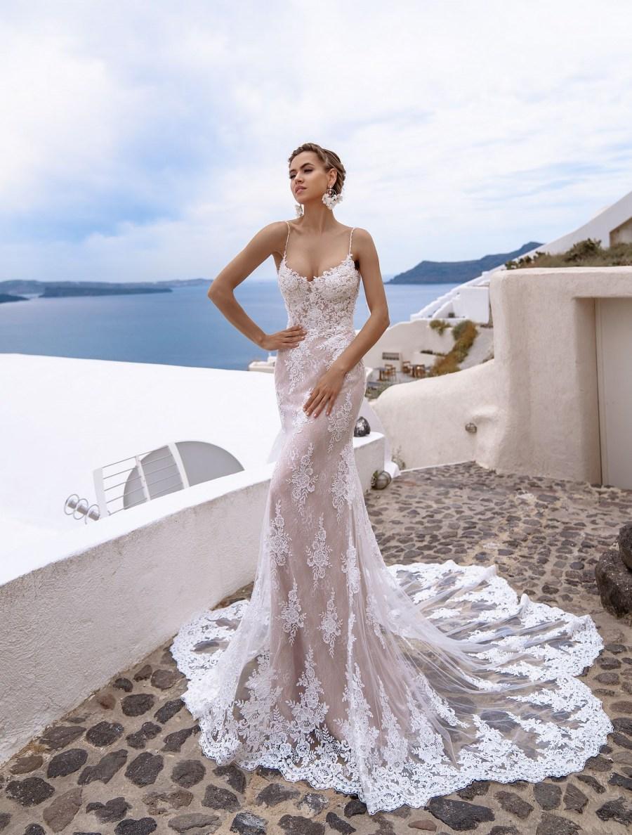 свадебные платья в стиле русалка | Vero