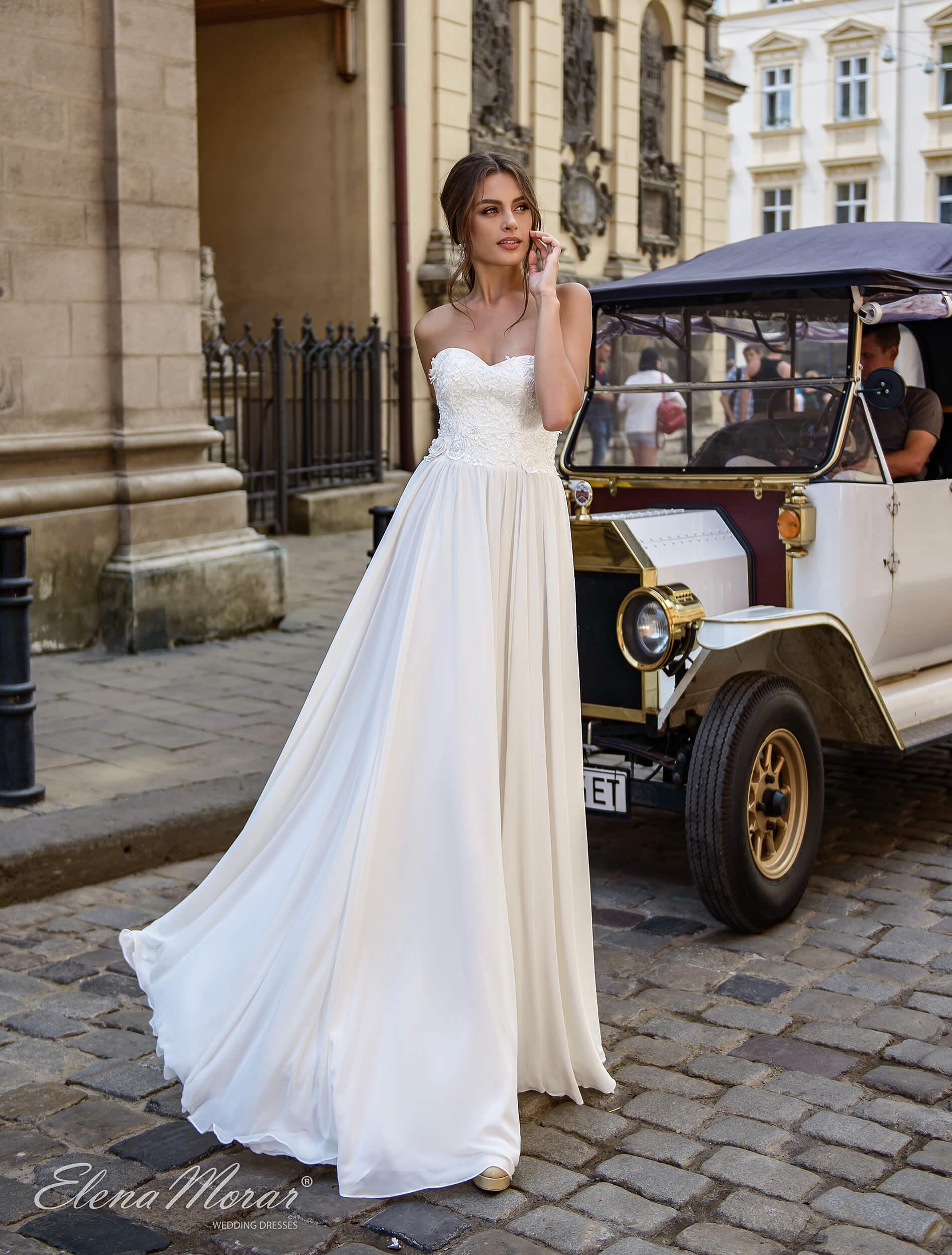 свадебные платья длинные прямые (1) | Vero
