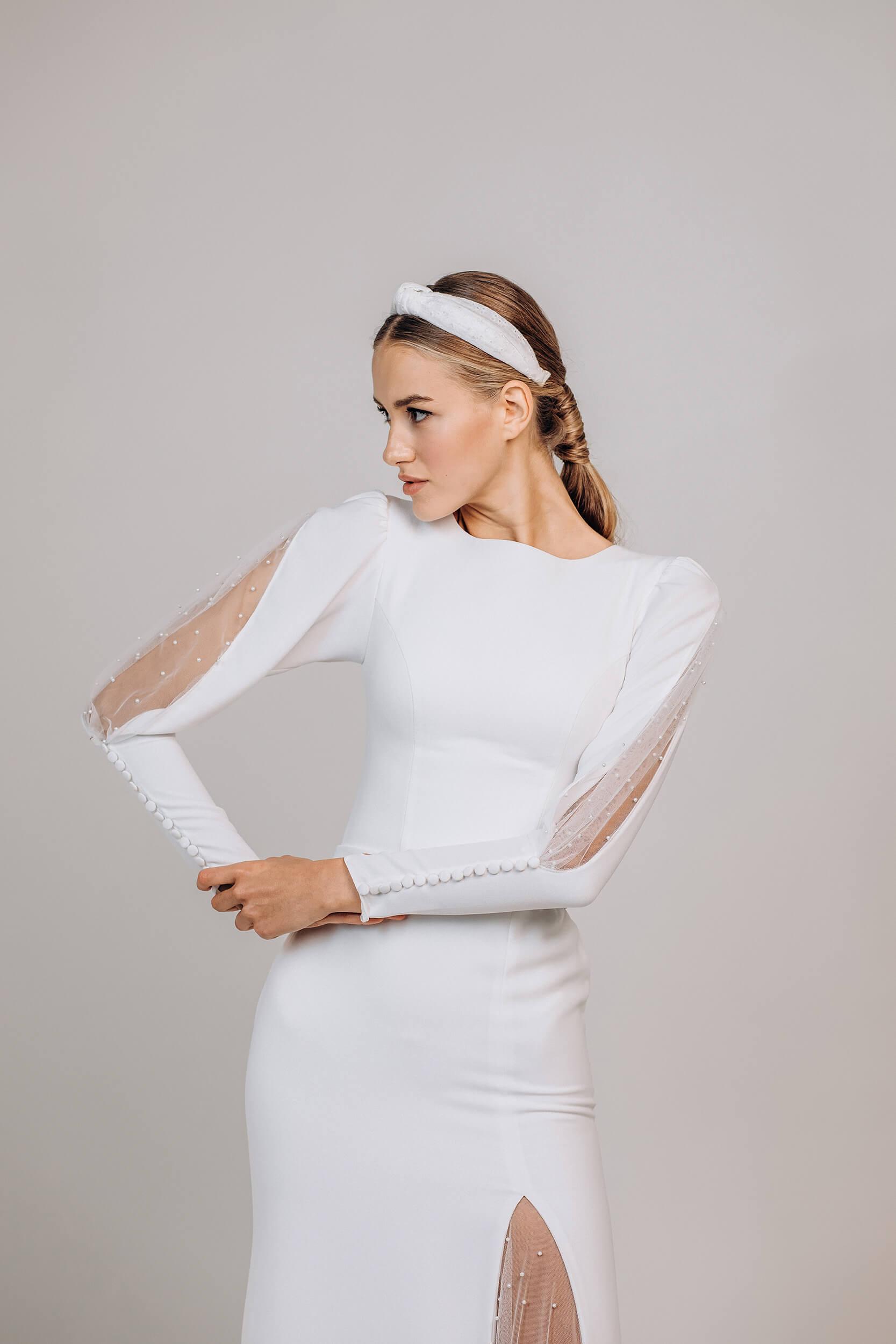 свадебные платья длинные прямые | Vero