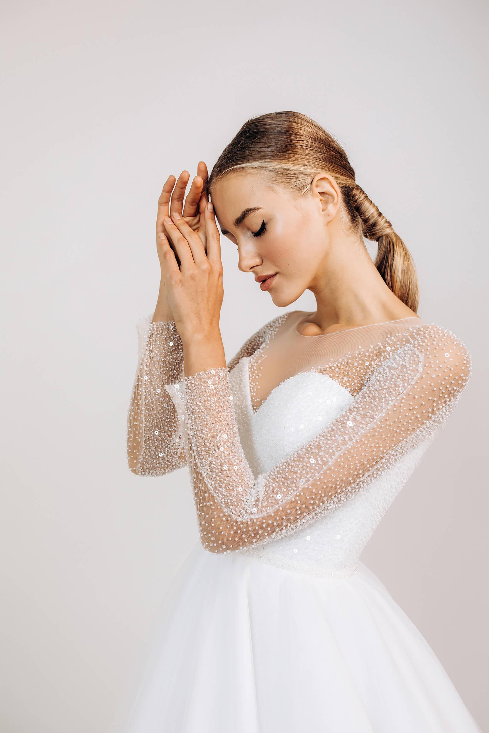 свадебные платья пышные с камнями | Vero