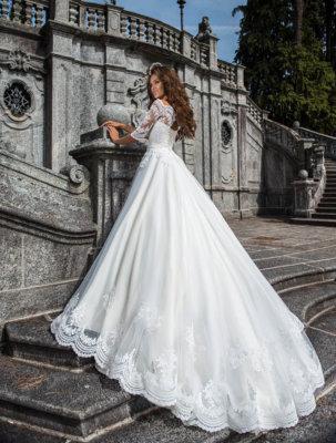 свадебные платья пышные с камнями(3) | Vero