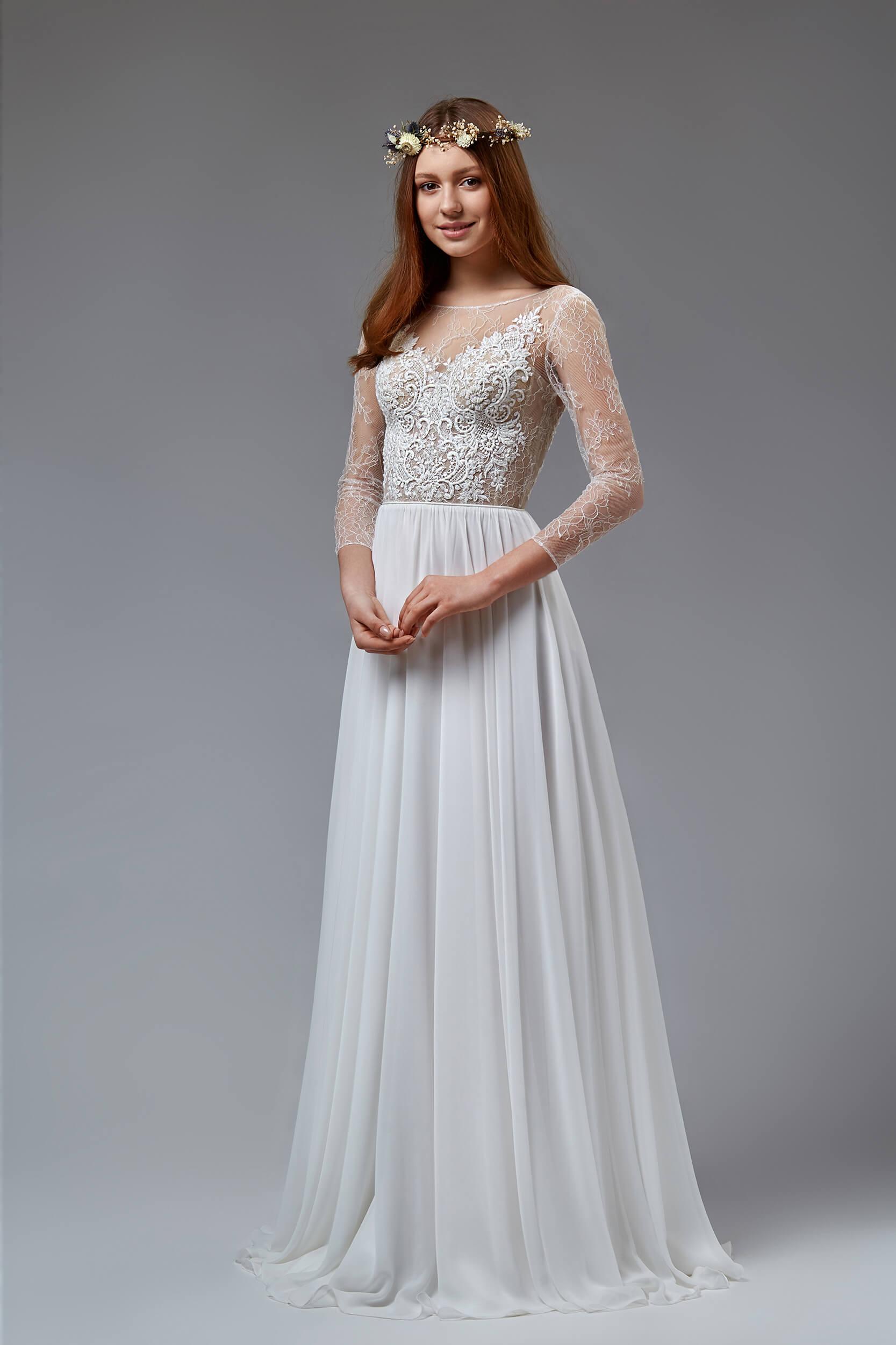 свадебные платья с открытой спиной(1) | Vero