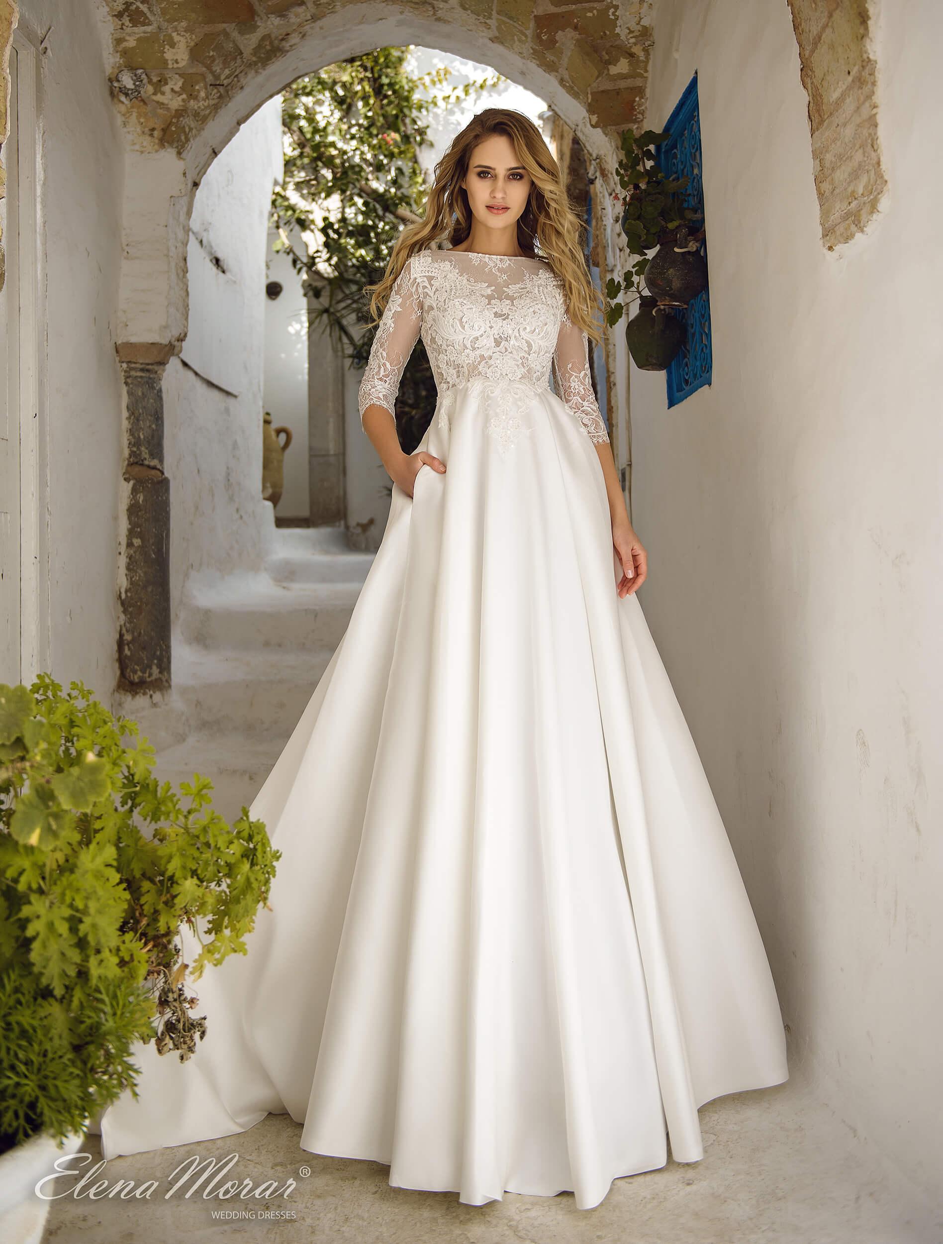 строгое свадебное платье(1) | Vero
