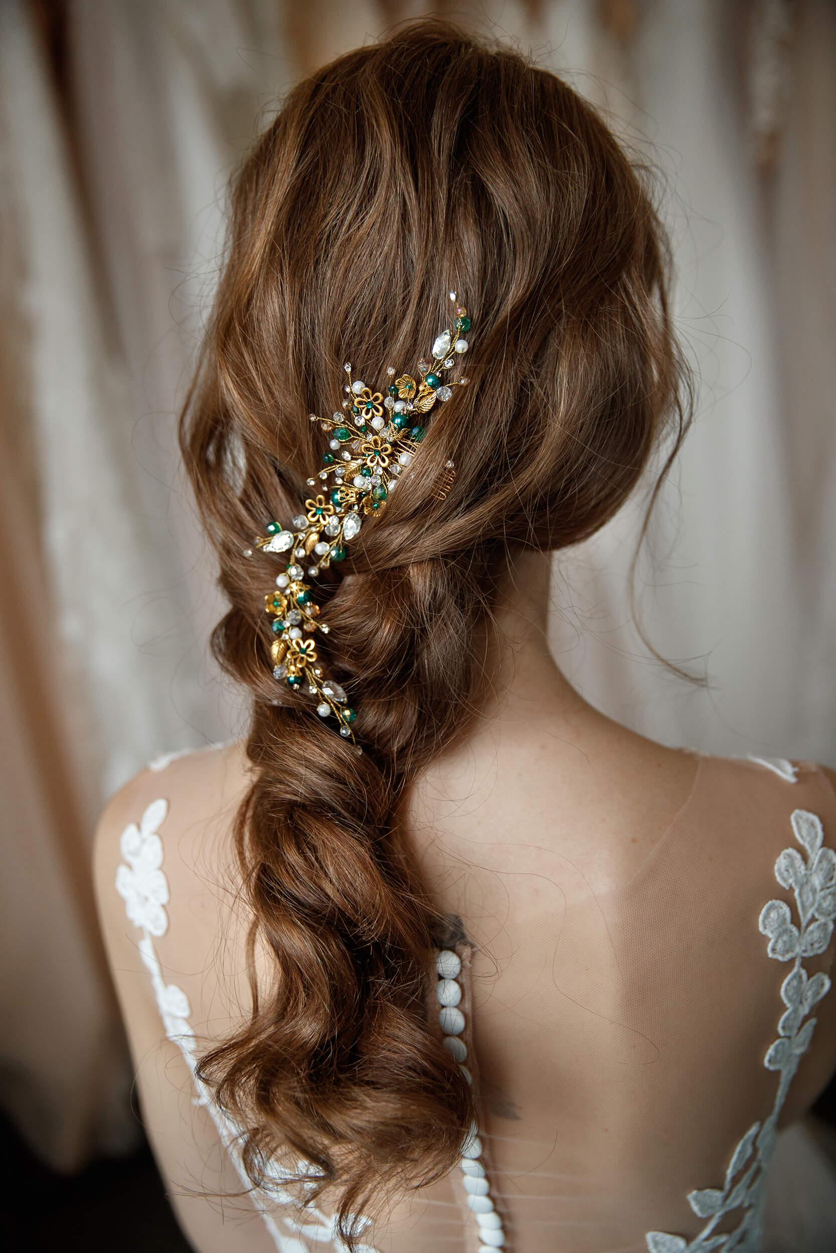 украшение для волос из бусин | Vero