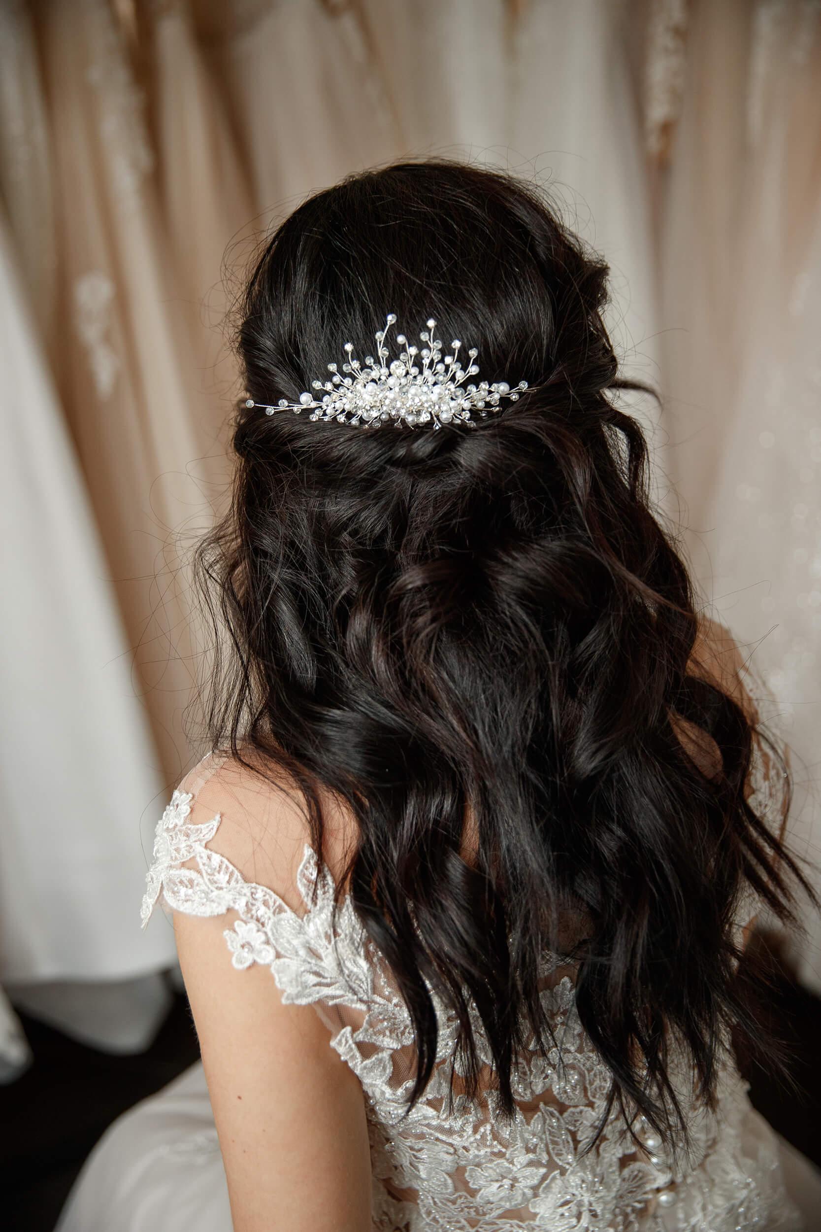 украшения в свадебные прически | Vero