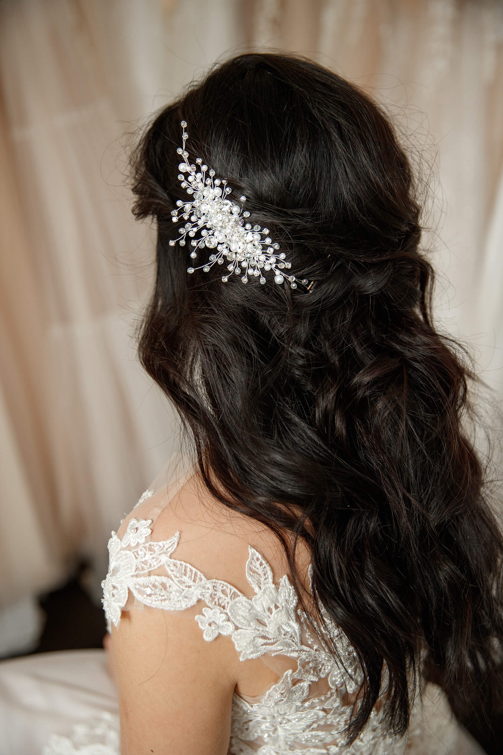украшения в свадебные прически(3) | Vero