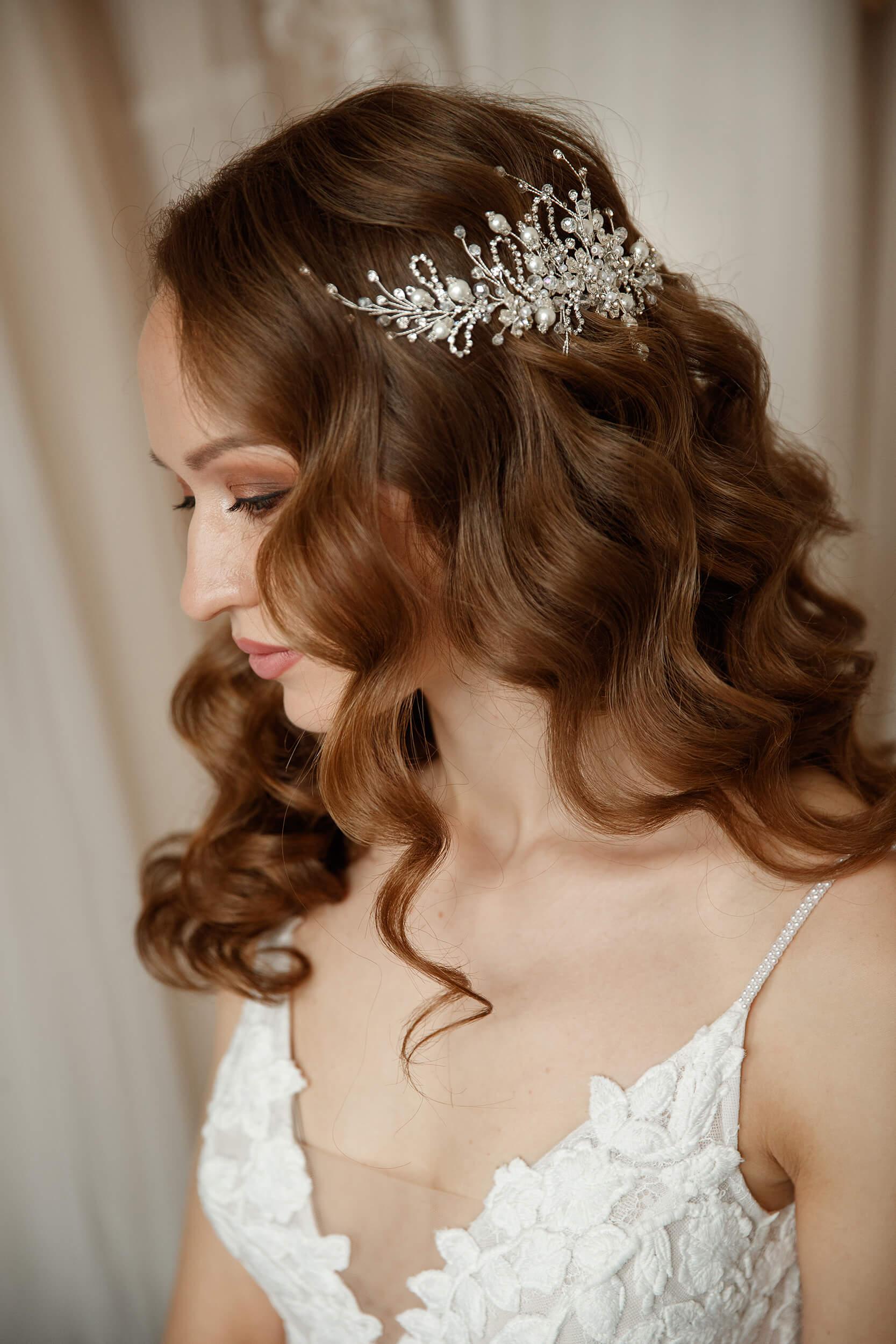 украшения для волос на свадьбу | Vero
