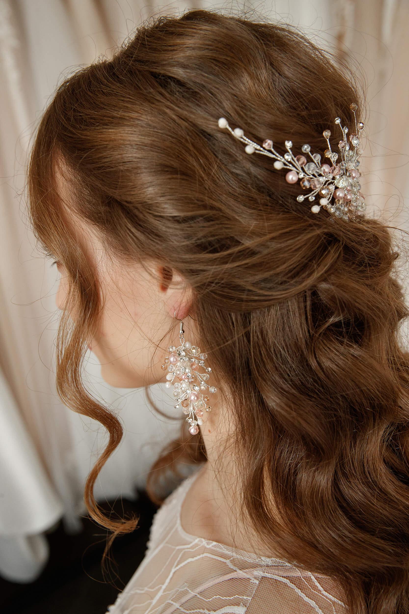 украшения для прически невесты | Vero